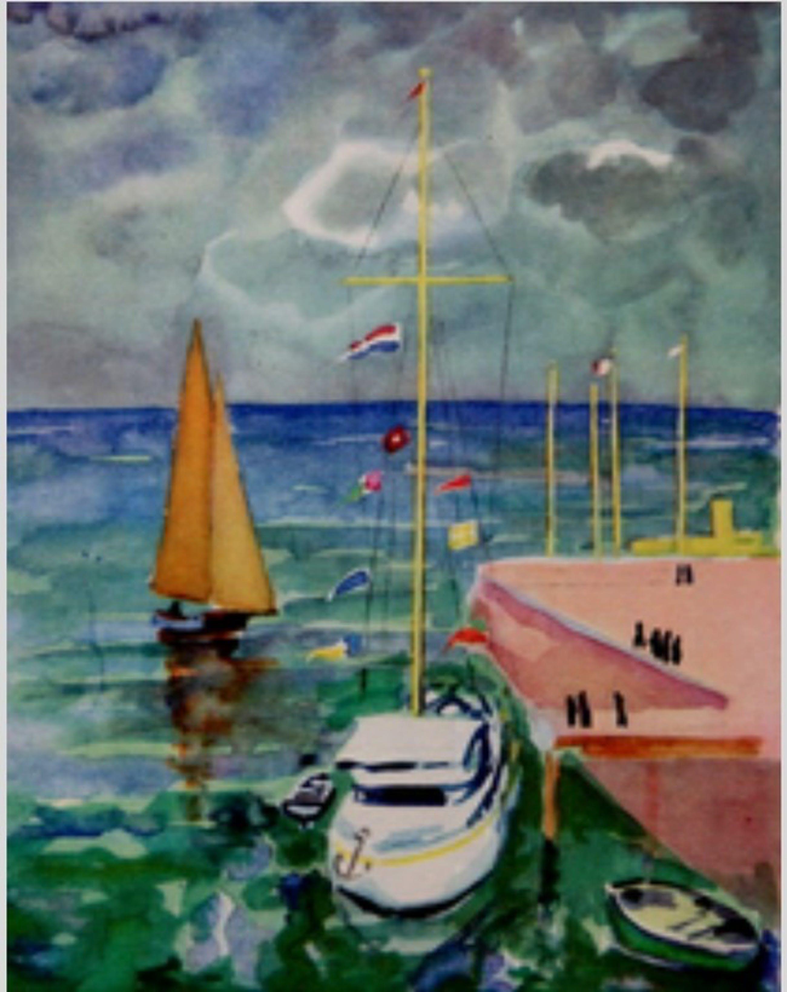 Orginele illustratie uit 1947 van Kees van Dongen. Inclusief certificaat kopen? Bied vanaf 39!