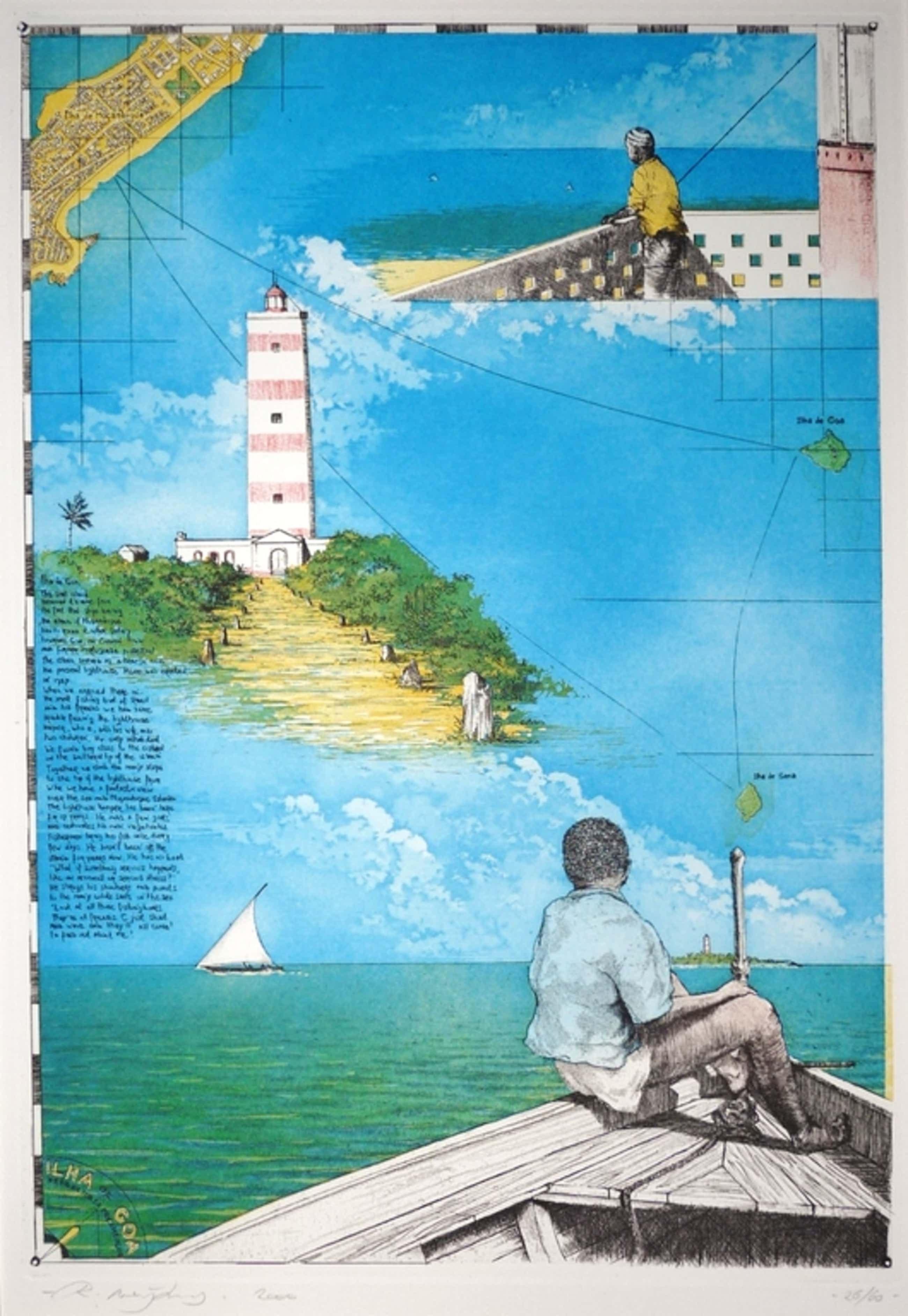 Rolf Weijburg, Kleurets, Ilha de Goa, Rep. de Mozambique kopen? Bied vanaf 90!