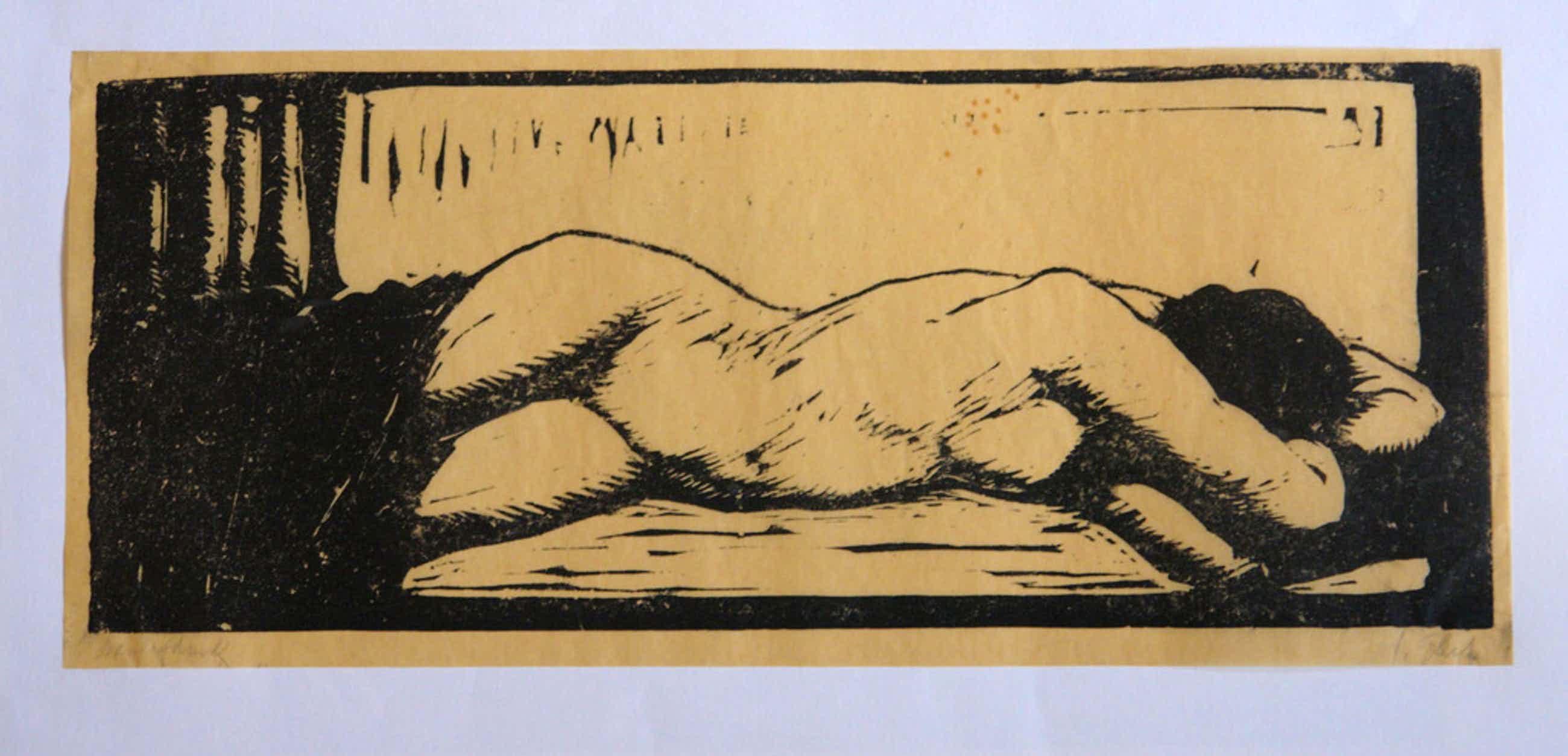 Twee houtsneden van Salomon Garf (Amsterdam, 1879 - Auschwitz, 1943) kopen? Bied vanaf 45!