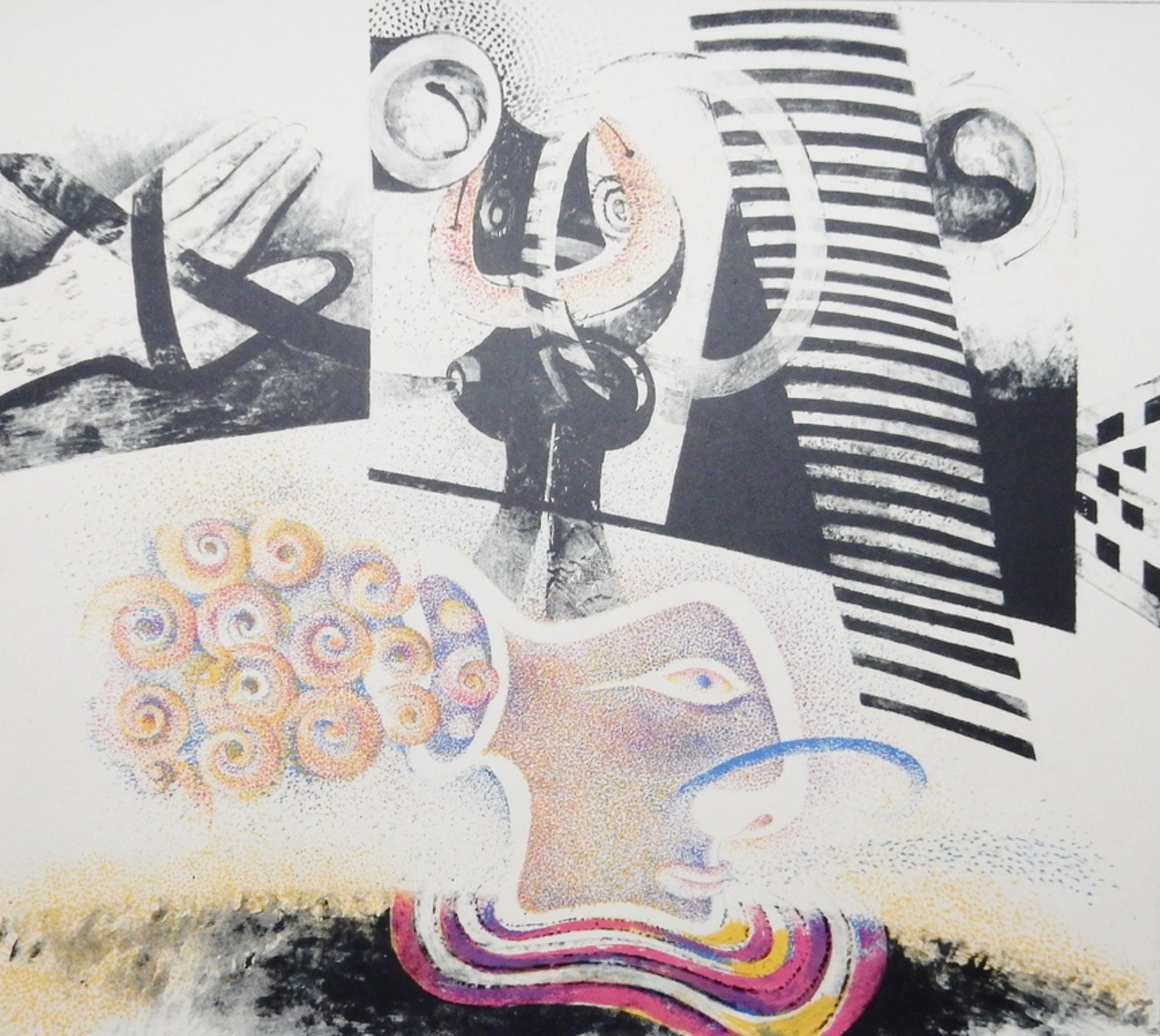 Martin Engelman (1924-1992) - Litho - 1967 kopen? Bied vanaf 35!