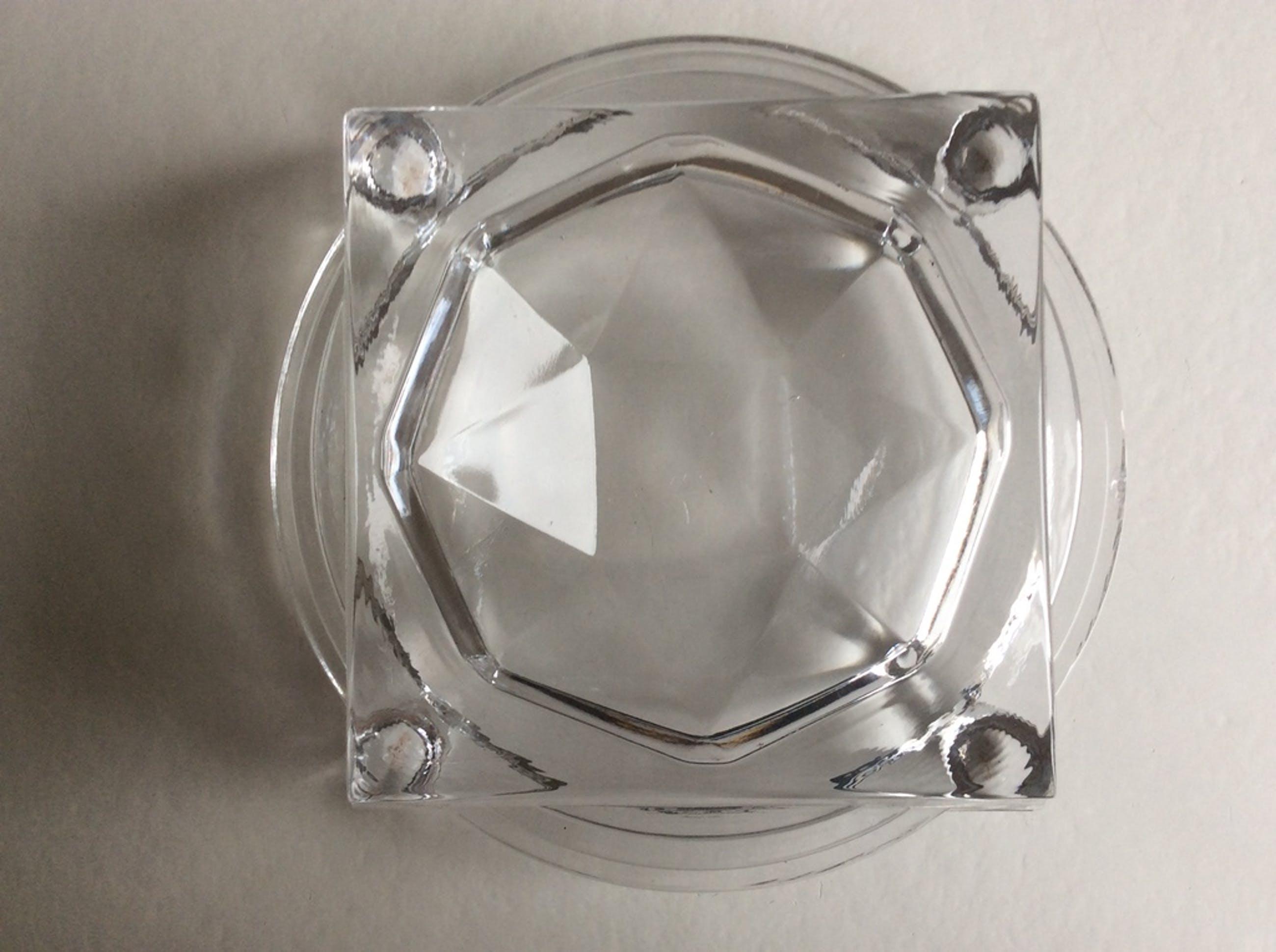 LAATSTE KANS! Borek Sipek glaswerk: decanteer kristallen standaard  - gesign. kopen? Bied vanaf 1!