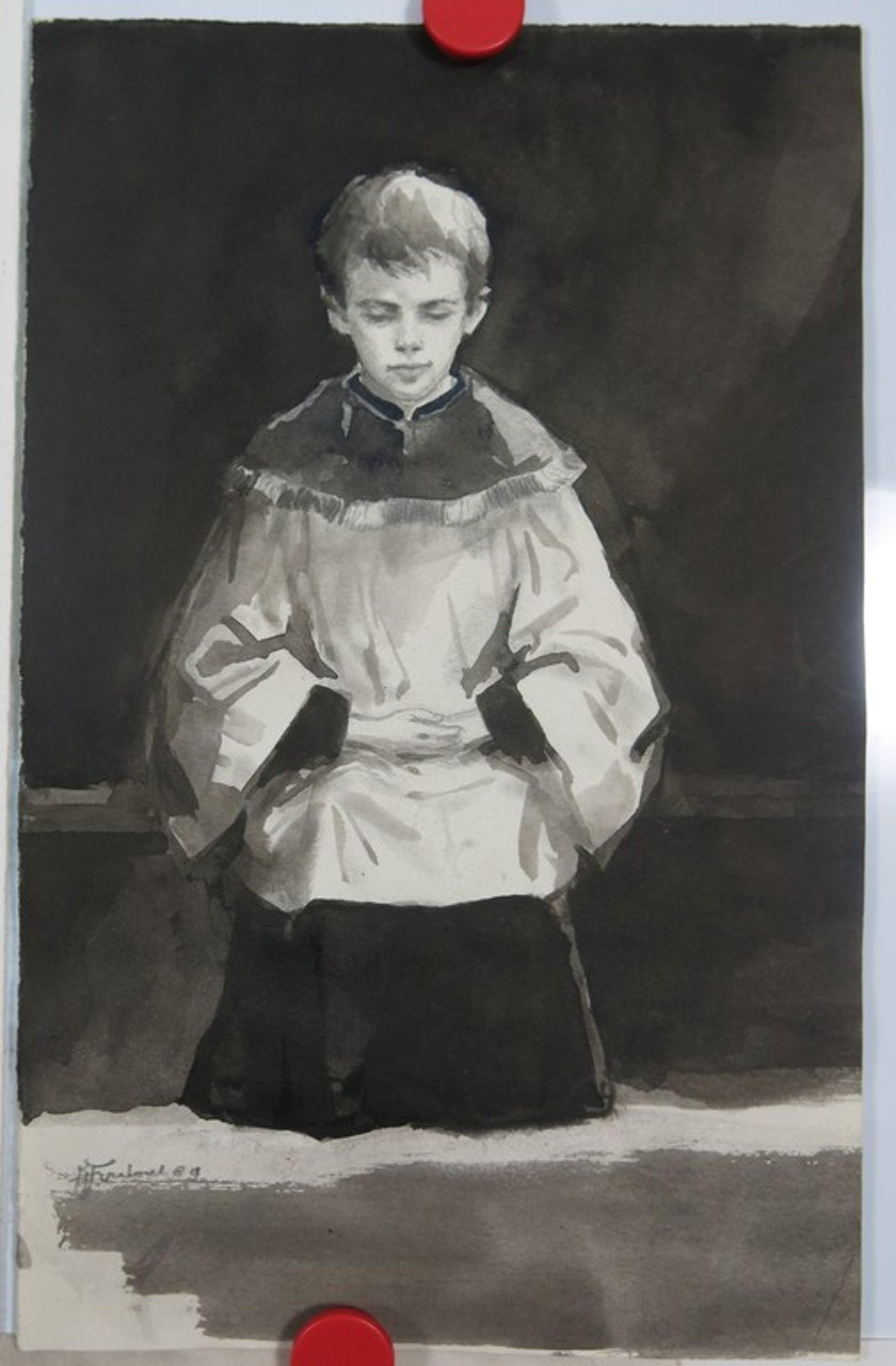 Klaas Fernhout: 5 tekeningen, Religie kopen? Bied vanaf 1!