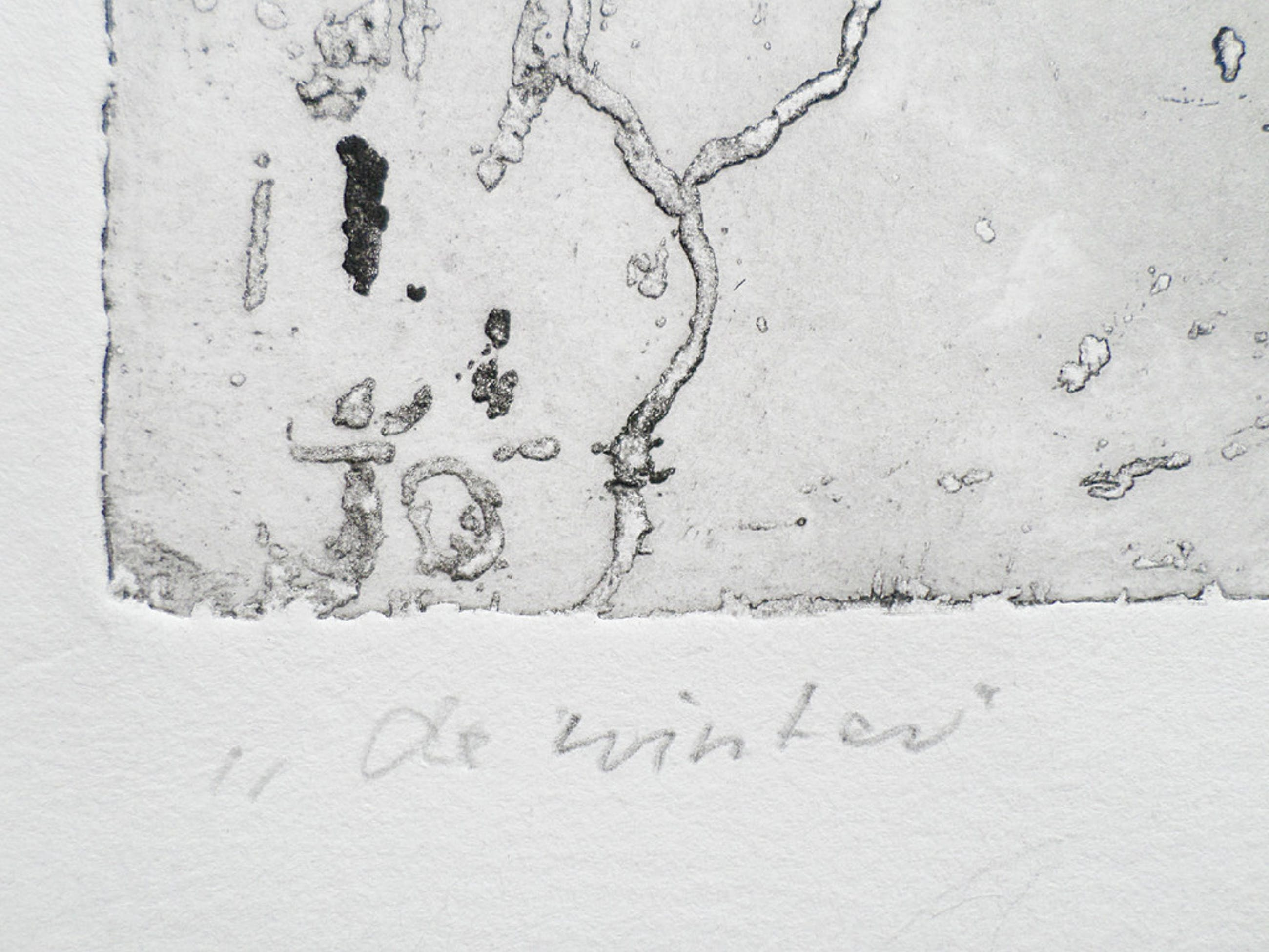 Jeanne Bieruma Oosting - De winter, ets kopen? Bied vanaf 100!