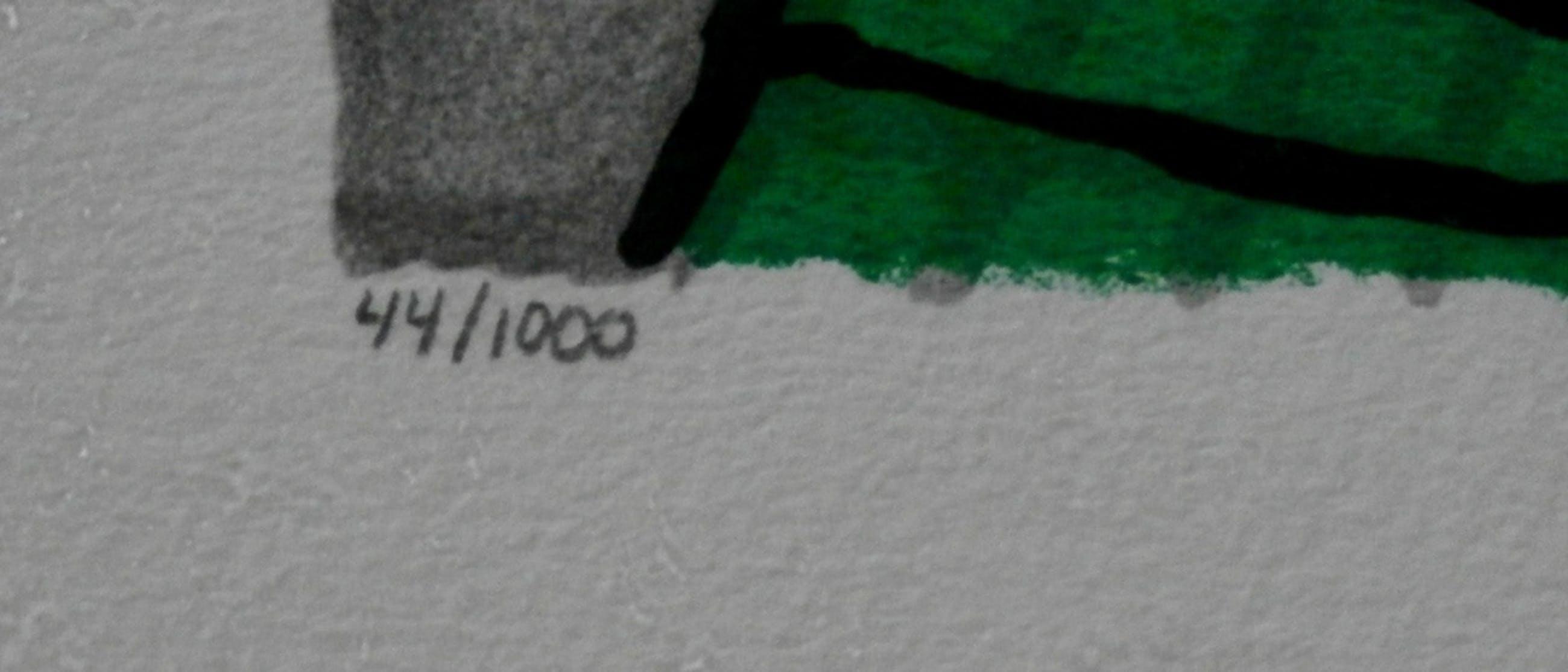 Corneille - ingelijste zeefdruk: Le voyage - 1995  kopen? Bied vanaf 110!