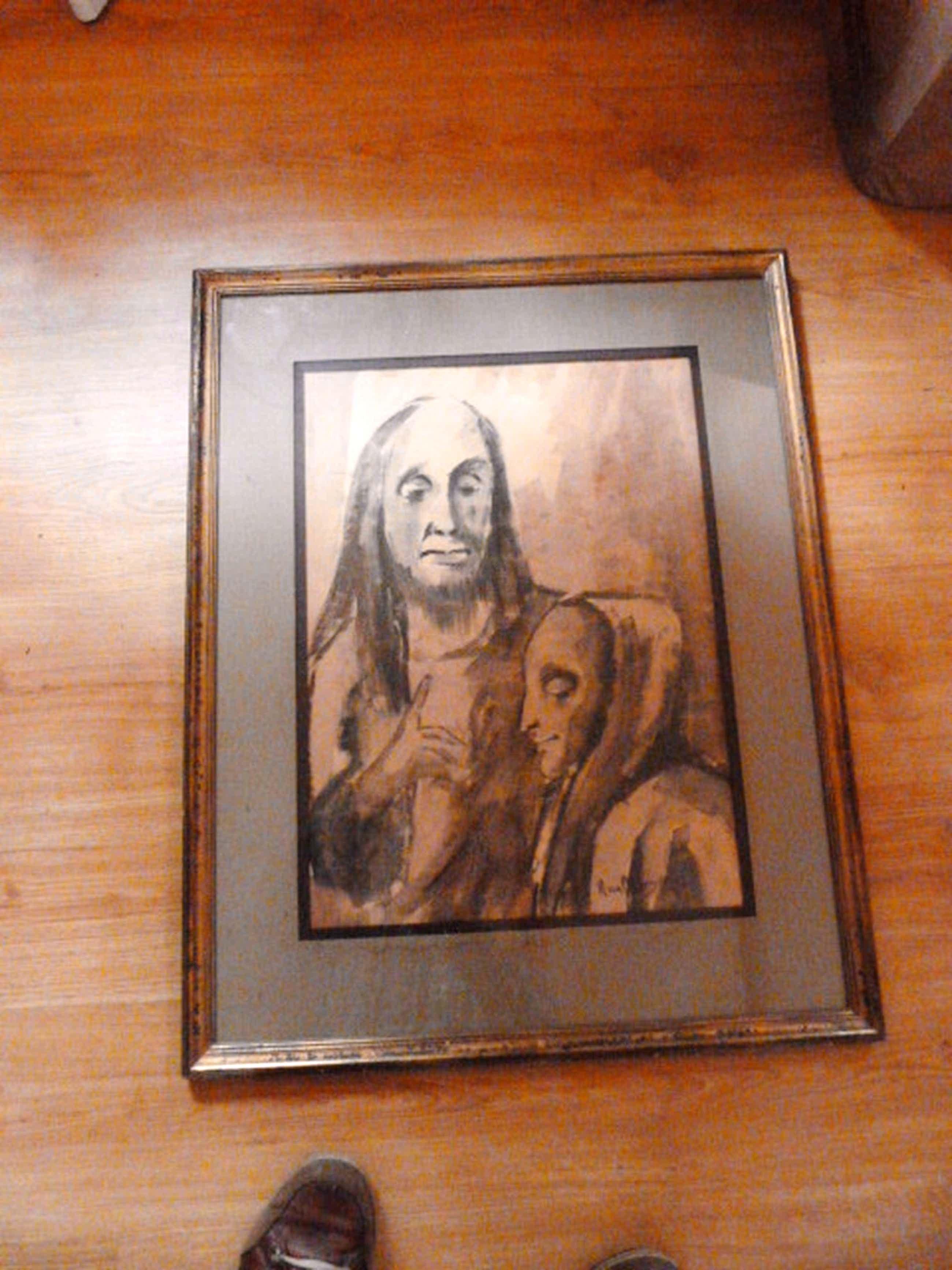 Han van Meegeren - ( 1889 - 1947 )  - zwartkrijt tekening. kopen? Bied vanaf 55!