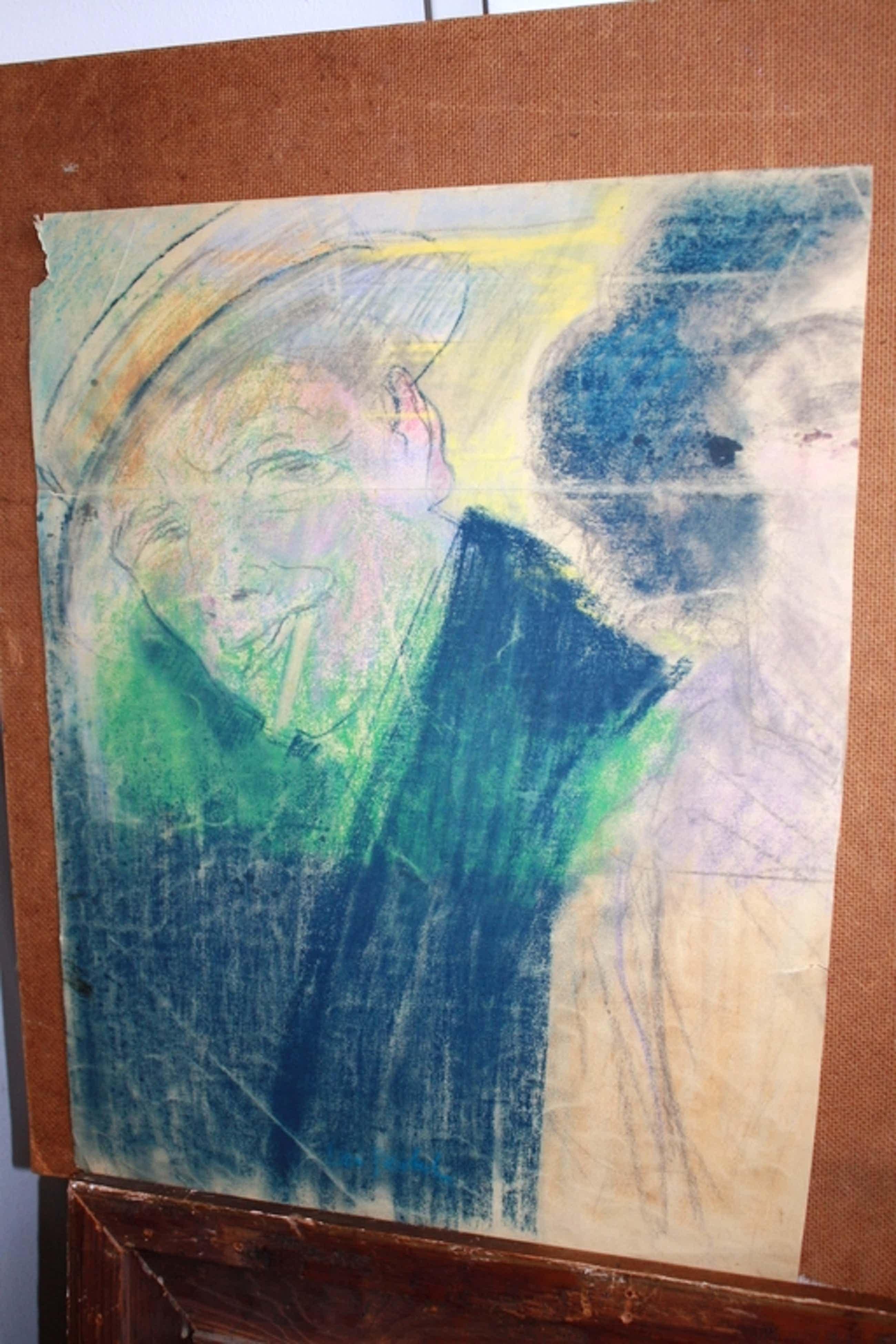 toegeschreven aan LEO GESTEL tekening art deco MAN met HOED kopen? Bied vanaf 45!