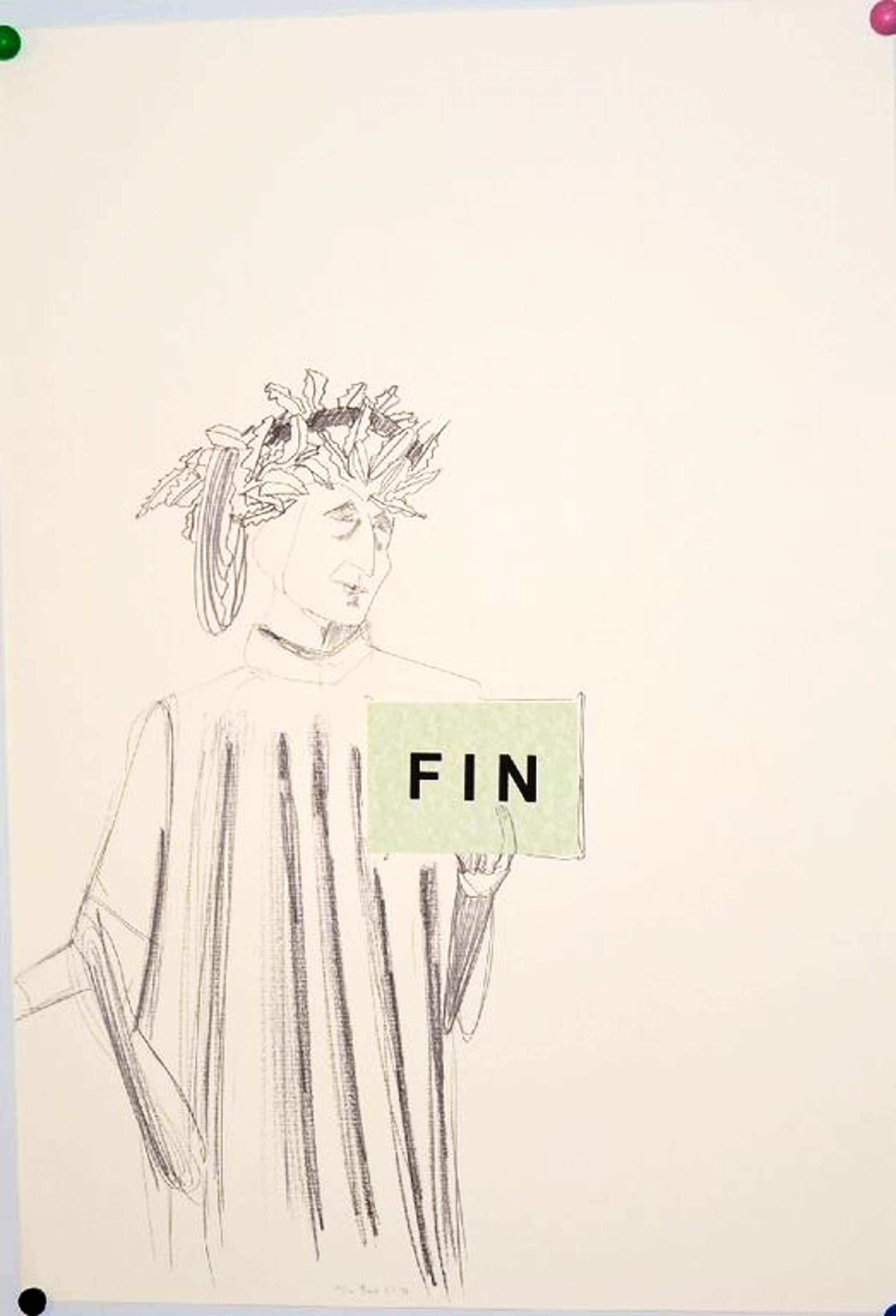 Emo Verkerk: Zeefdruk/Collage. Dante kopen? Bied vanaf 80!