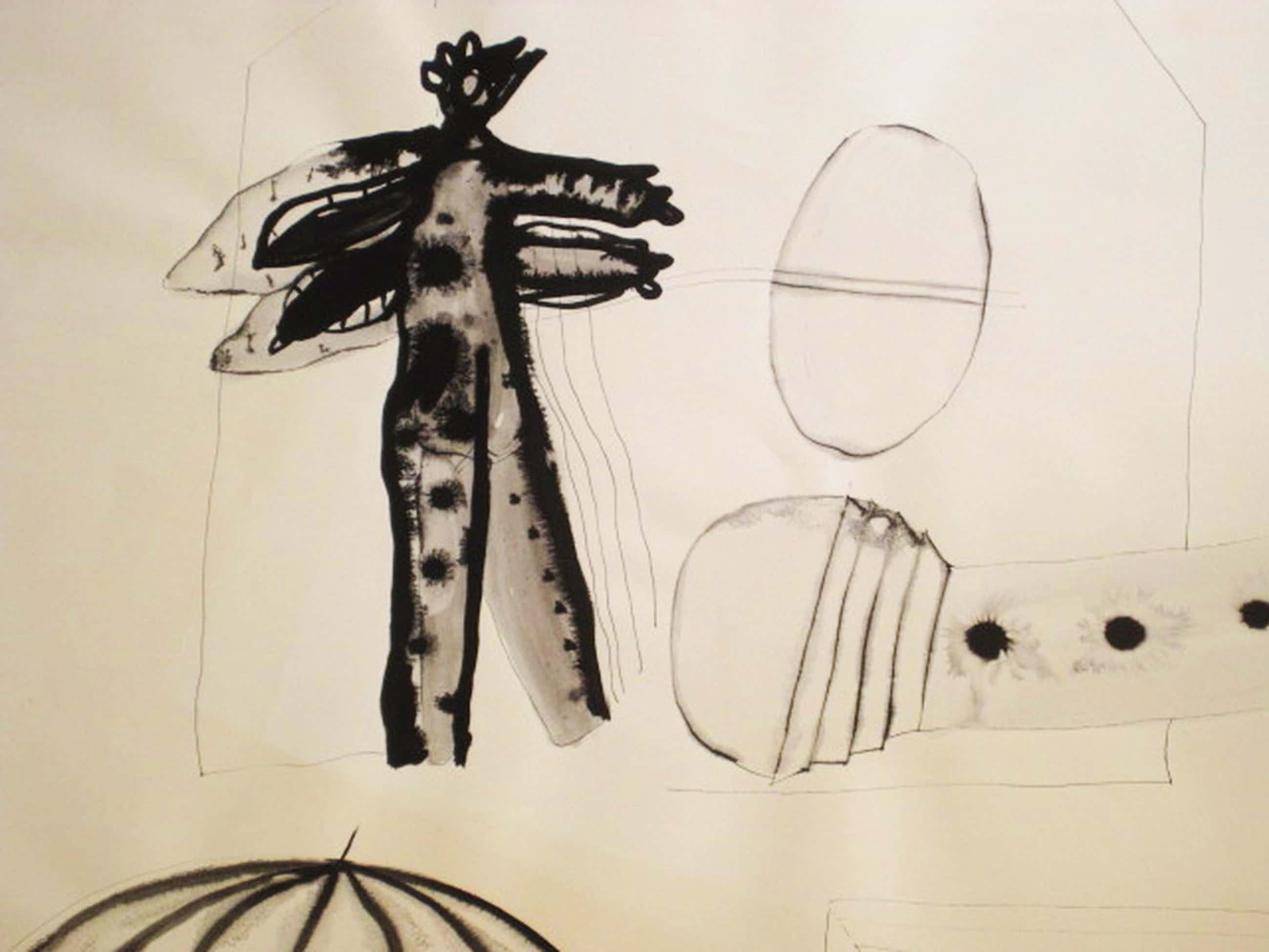 "Suriname expressionist Guillaume lo a Njoe - gesign Aquarel - ""for you Sam"" kopen? Bied vanaf 40!"