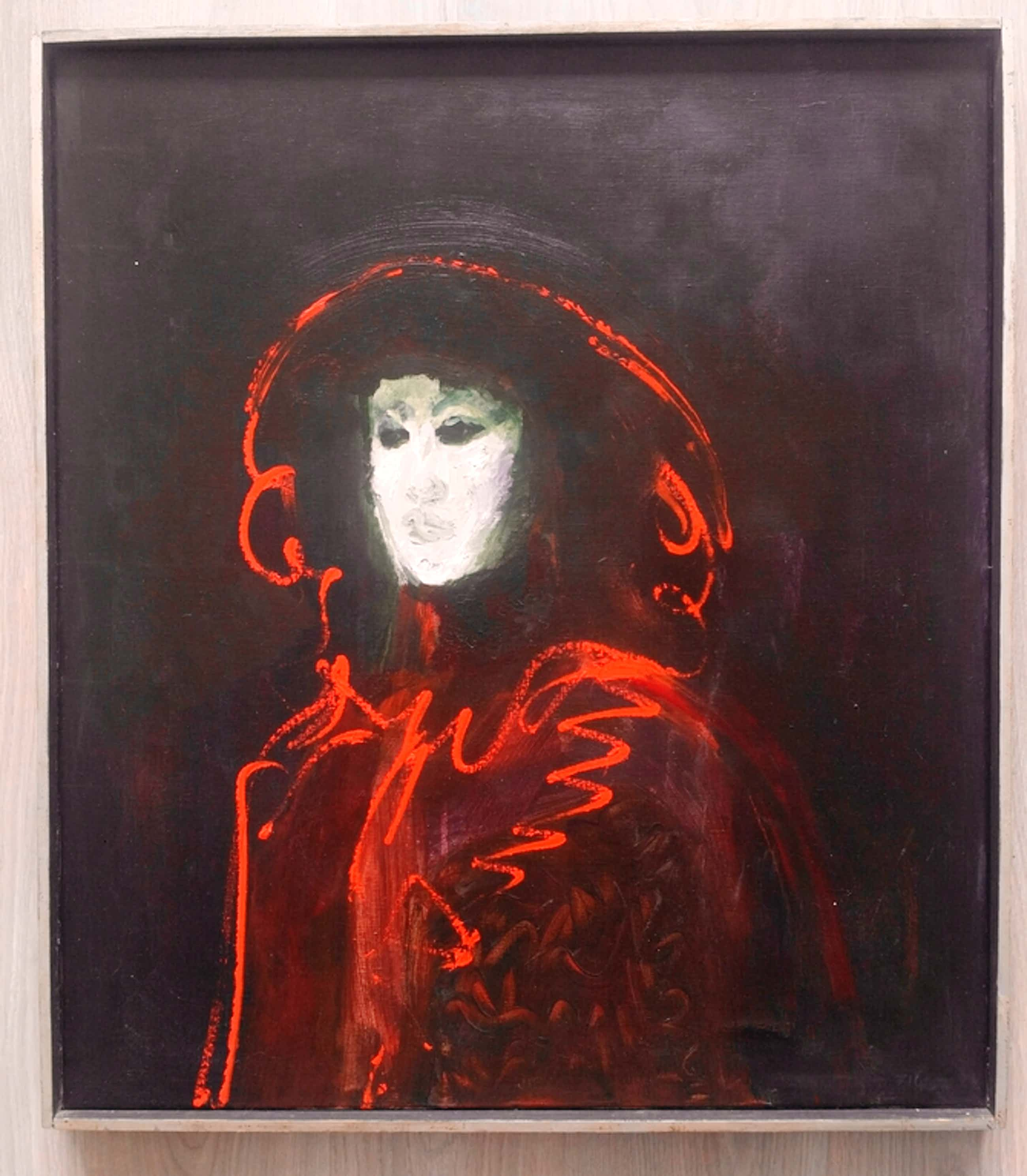 Luis Filcer - Luis Filcer. Olieverf op doek. Venetiaans figuur met masker. kopen? Bied vanaf 425!