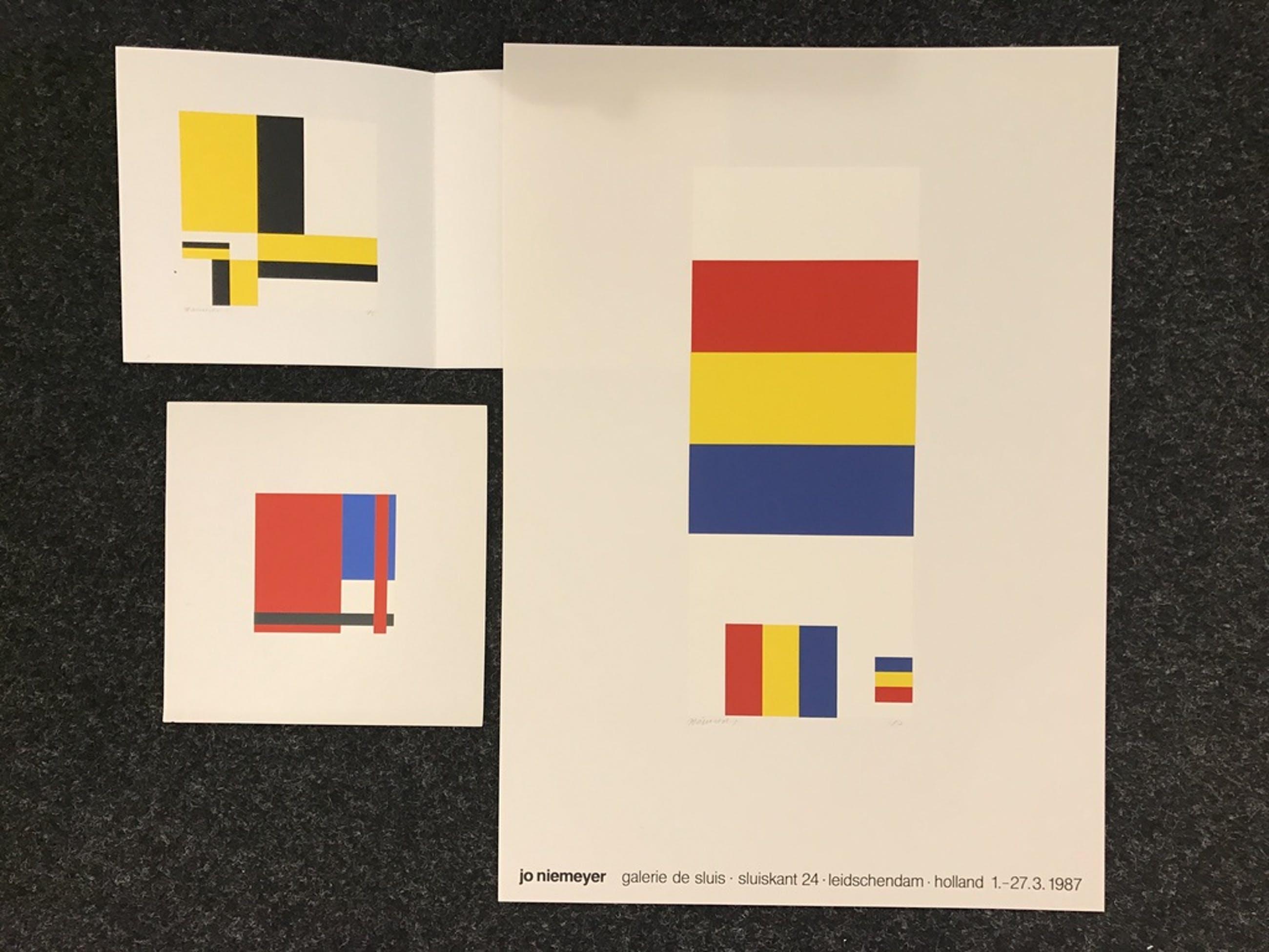 Jo Niemeyer  3 zeefdrukken kopen? Bied vanaf 1!