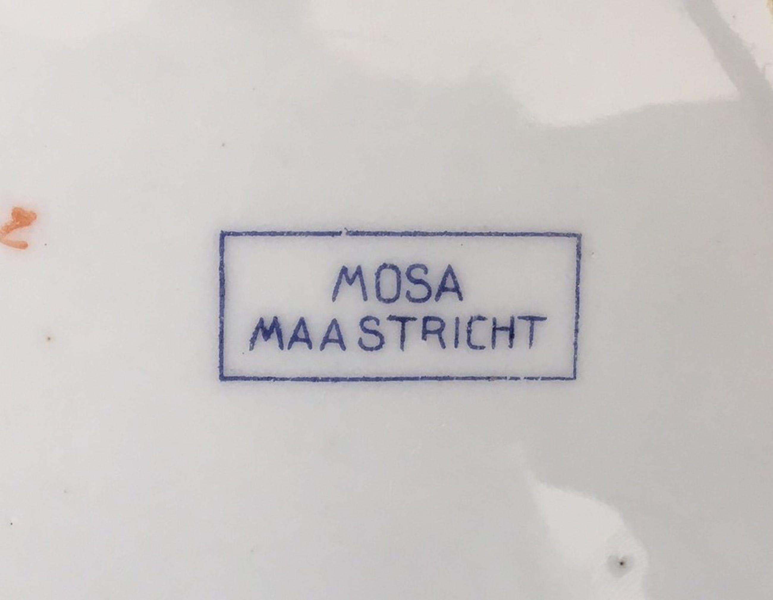 Mosa - Art deco bord int. Euharistisch congres 1924 in Amsterdam kopen? Bied vanaf 1!