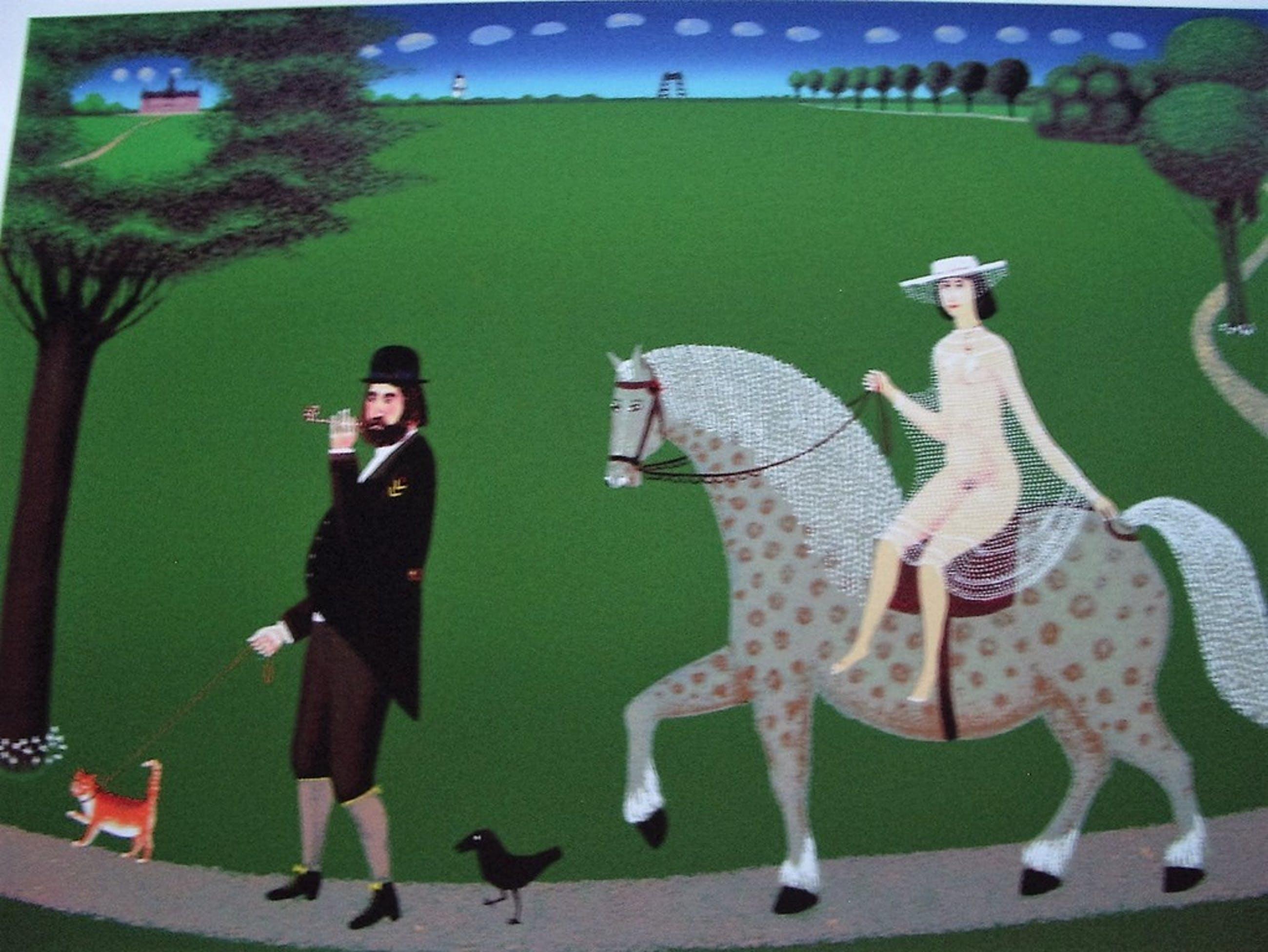 Willem Westbroek - zeefdruk - Walking the Cat kopen? Bied vanaf 135!