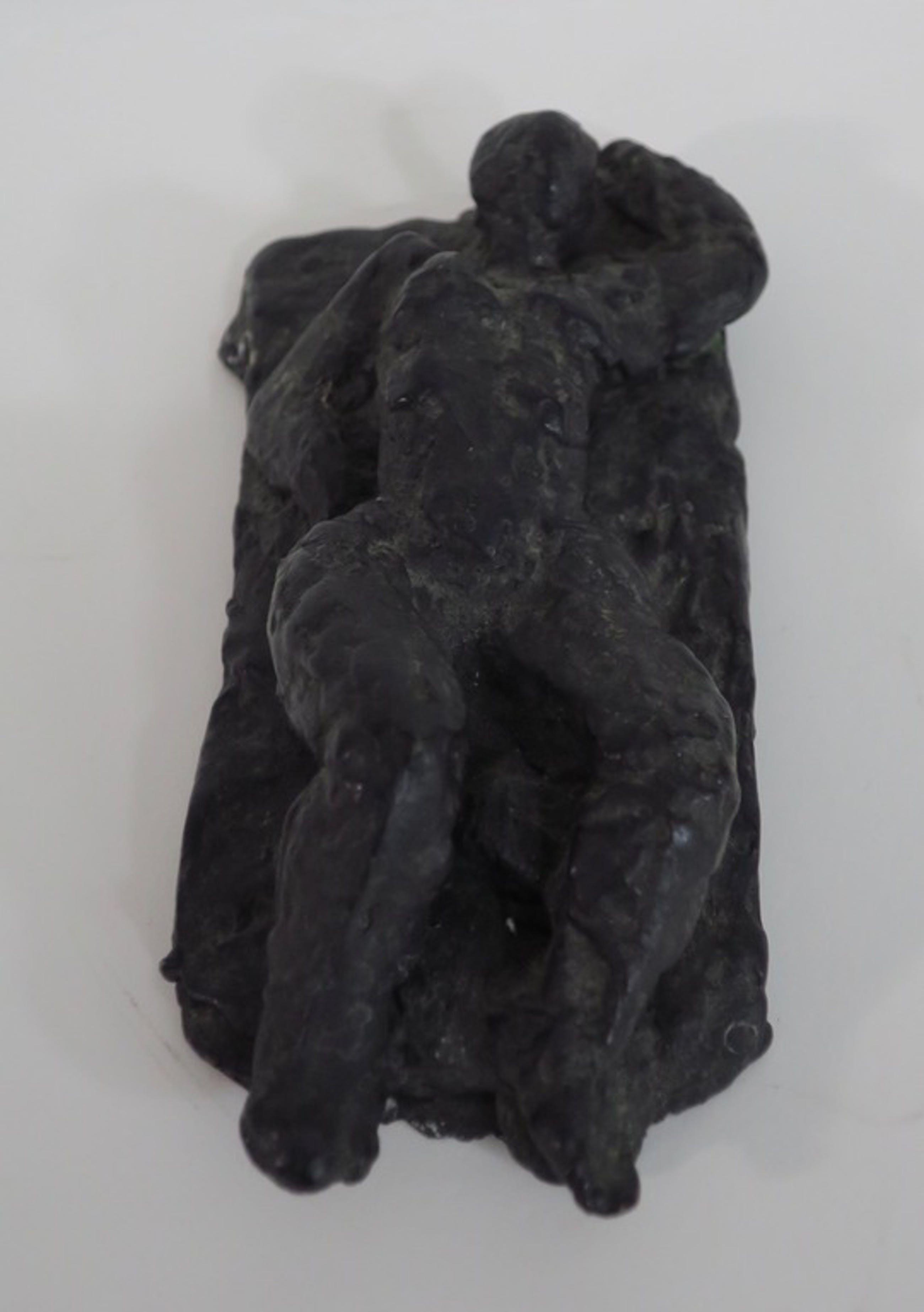 Charlotte van Pallandt: Gepatineerd bronzen beeld, Vrouwelijk naakt kopen? Bied vanaf 350!