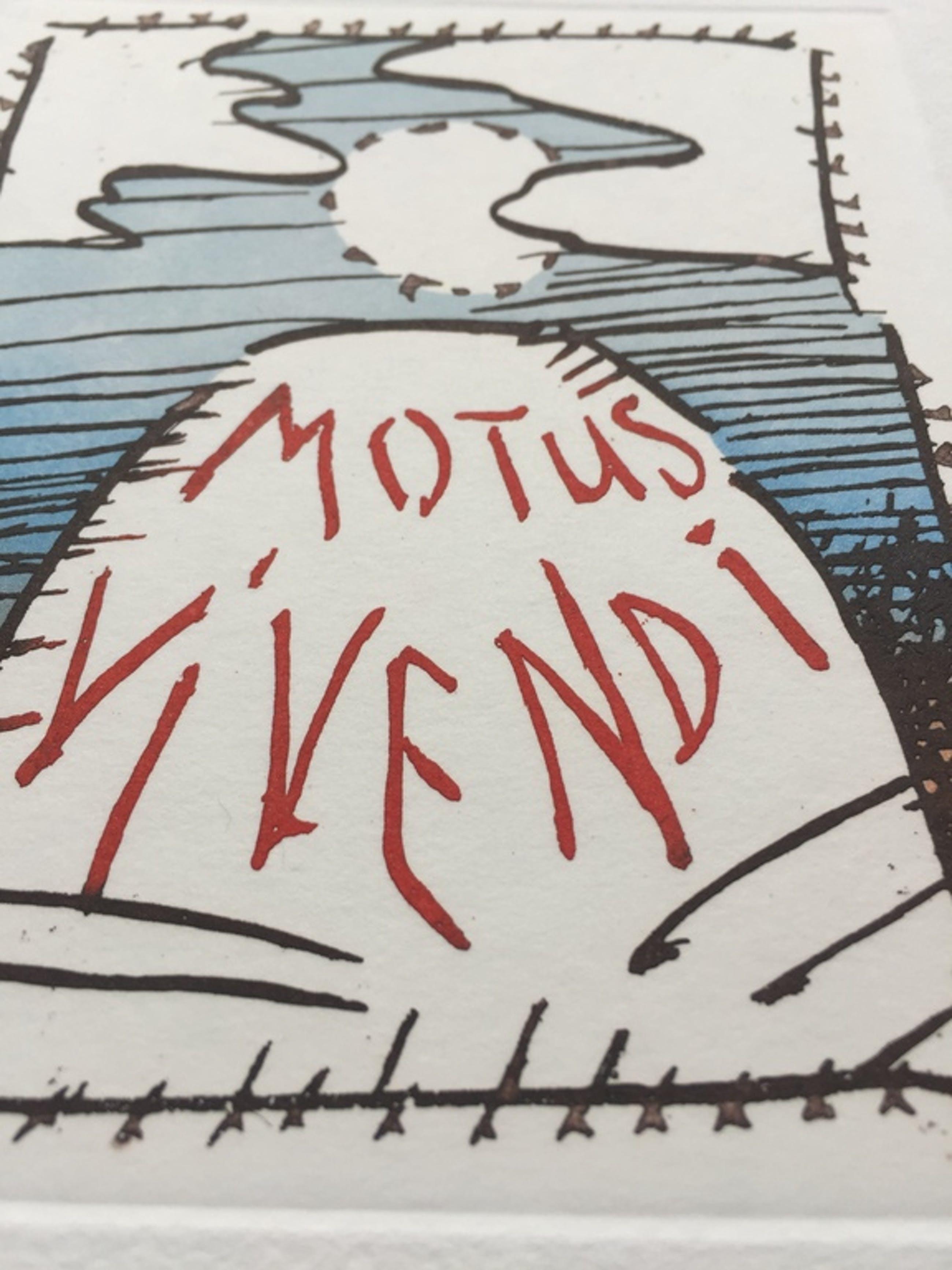 Pierre Alechinsky etching - Motus Vivendi kopen? Bied vanaf 300!
