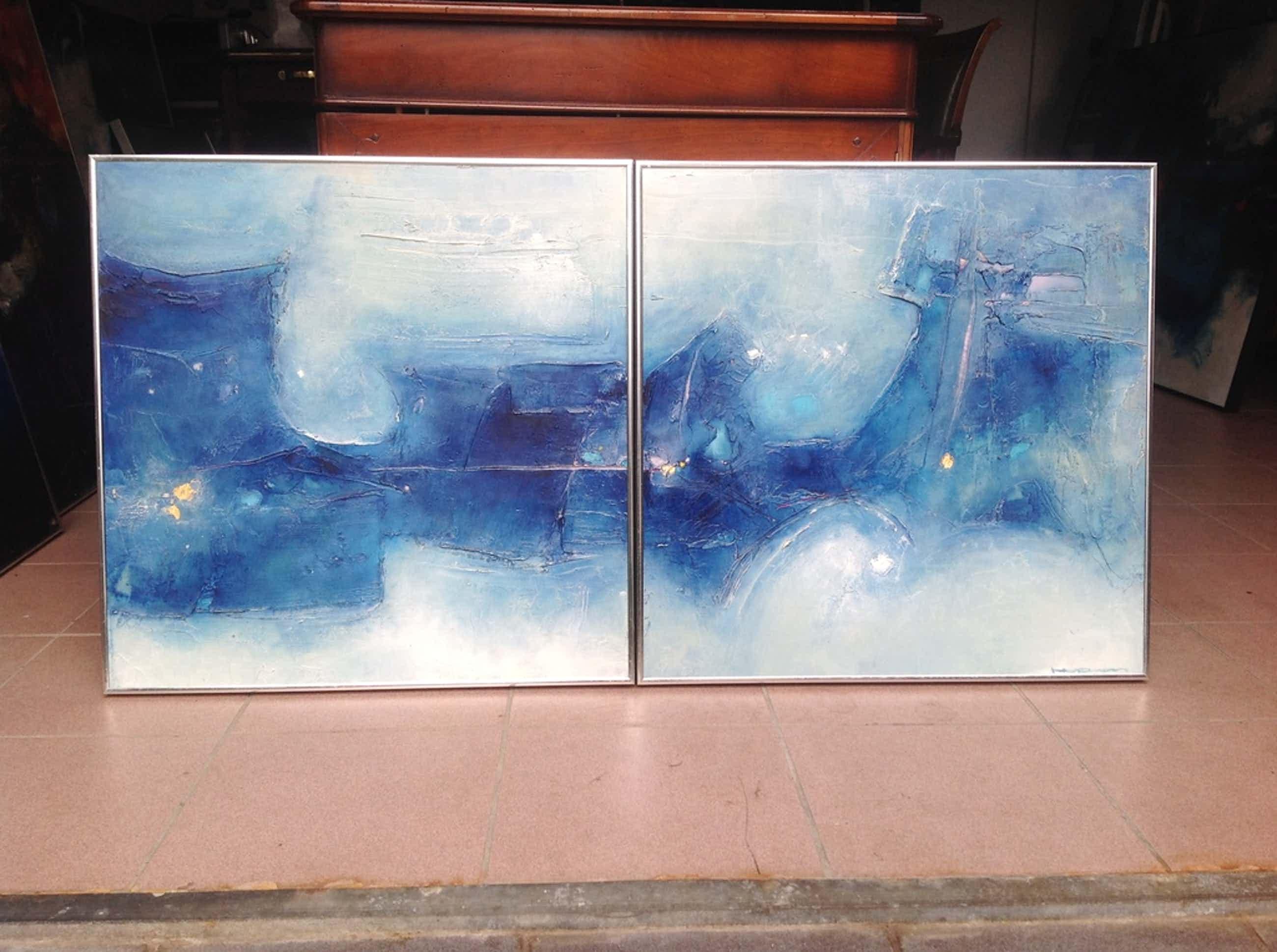 Schilderij Machiel Hopman, 2 luik  kopen? Bied vanaf 700!