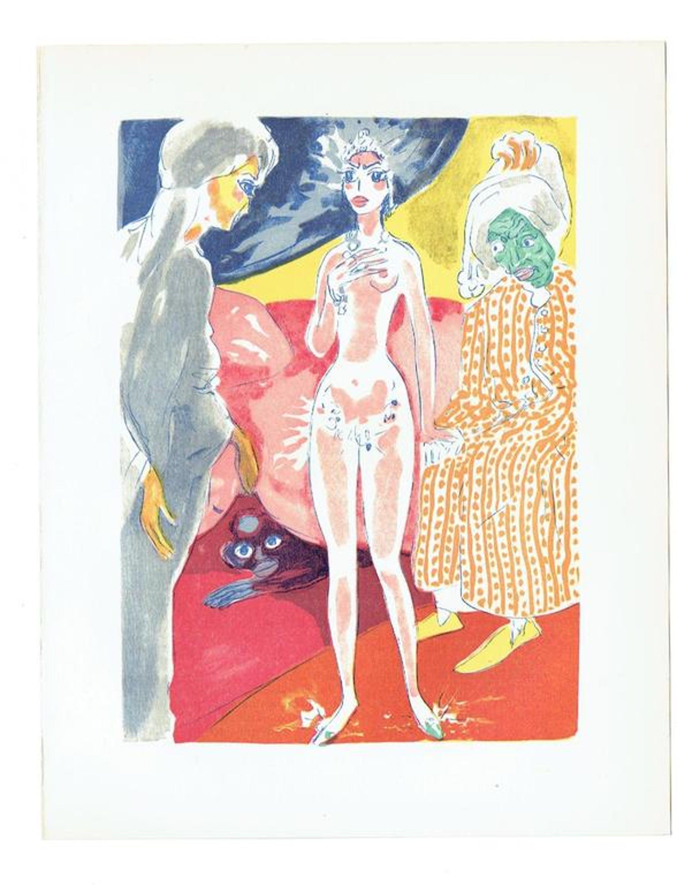 Kees van Dongen-6 Gravures (Les Femmes) uit Le Livre des Mille et Une Nuits  kopen? Bied vanaf 150!