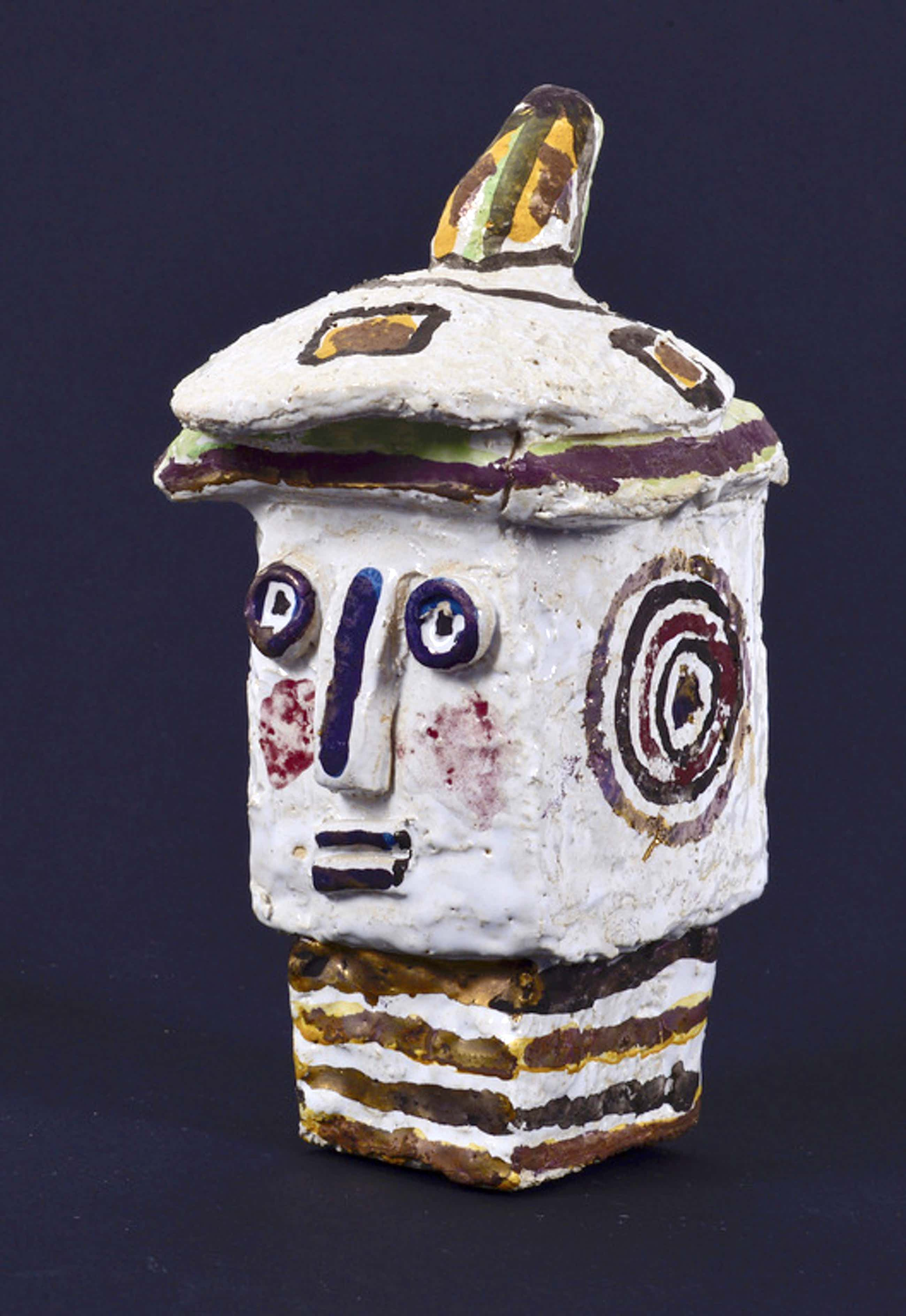 Jan Oosterman jr.: Keramiek sculptuur - Alpino kopen? Bied vanaf 70!