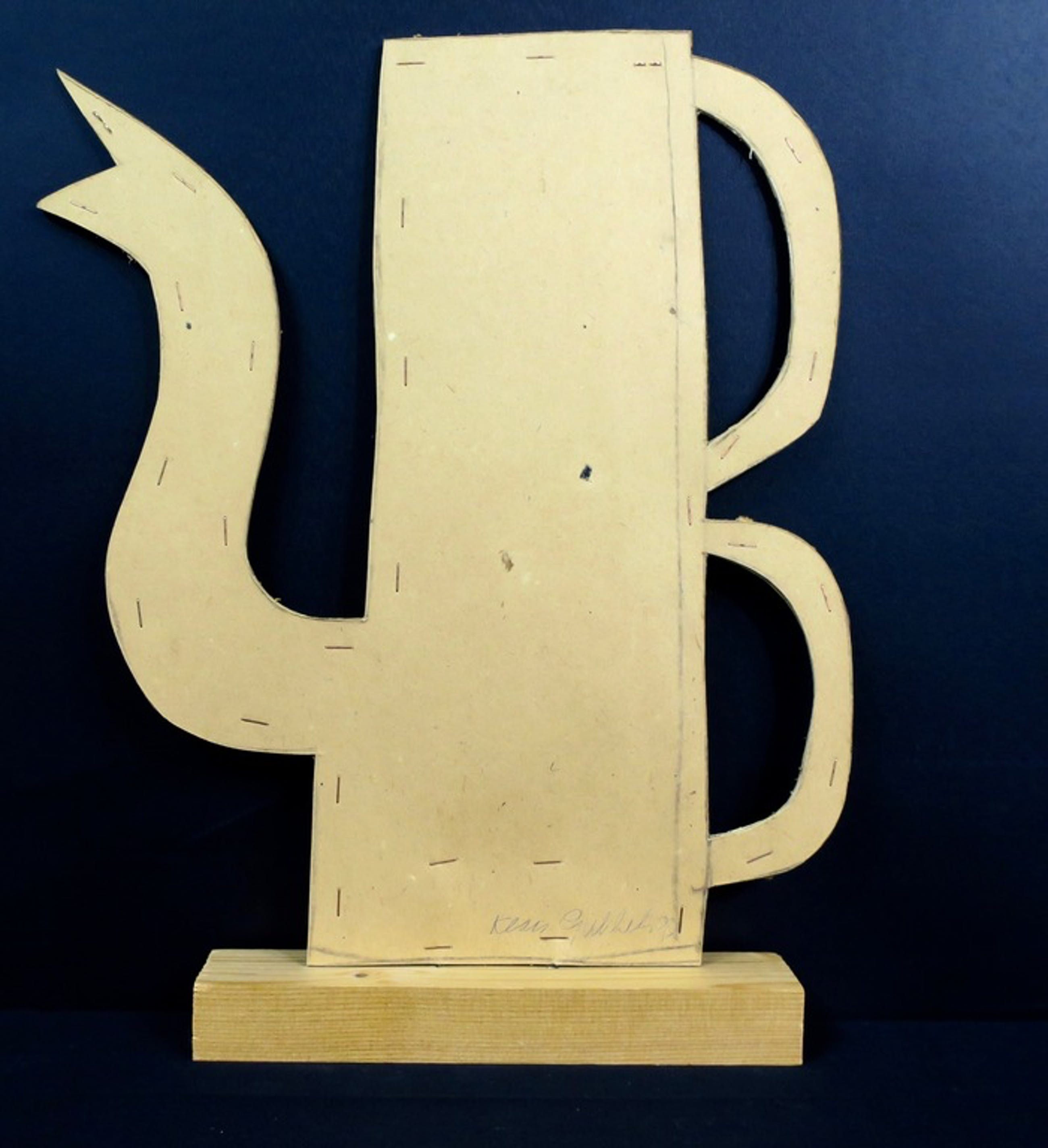 Klaas Gubbels: Gesigneerde kan van karton met 2 handvatten kopen? Bied vanaf 200!