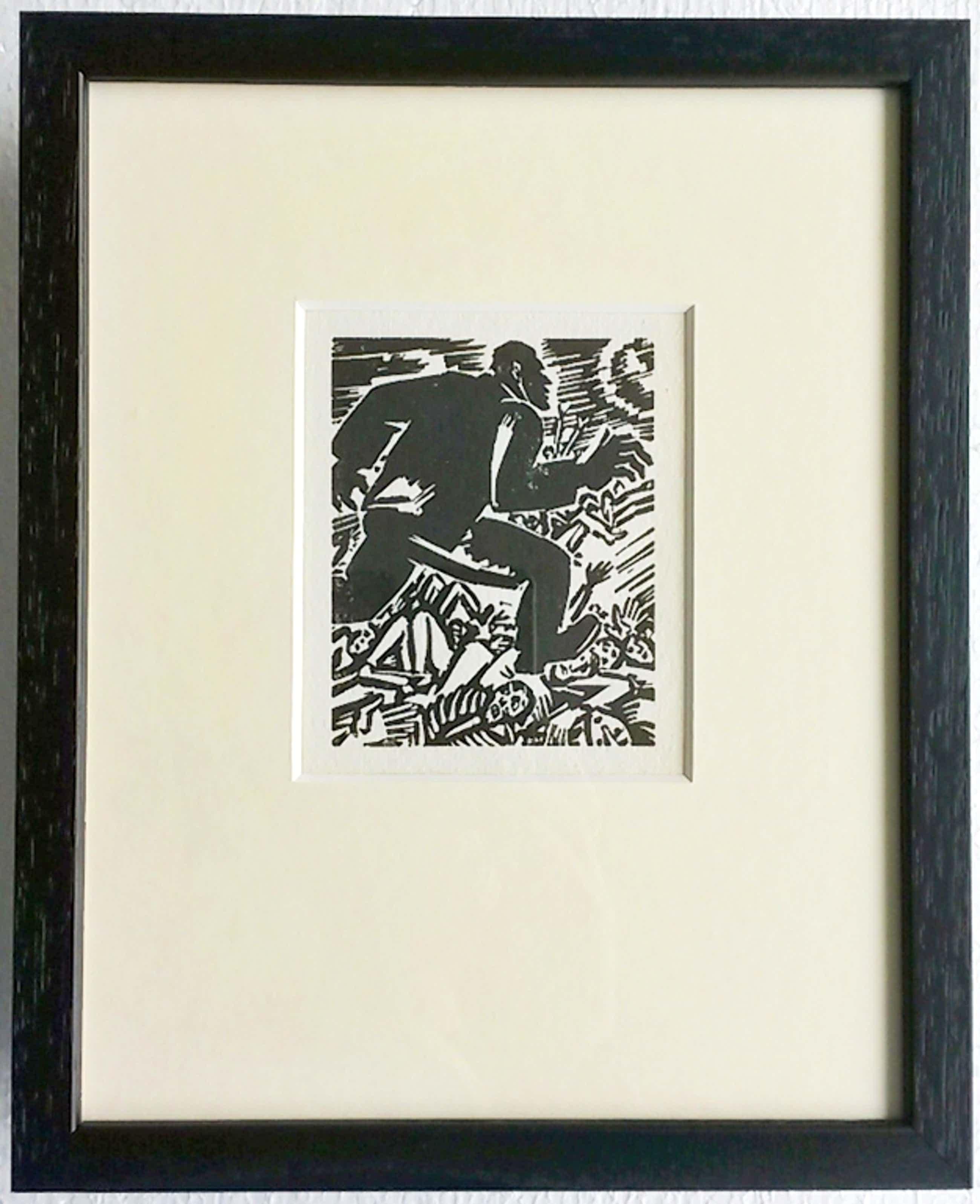 Frans Masereel, houtsnede: Eroberer, 1949 kopen? Bied vanaf 55!