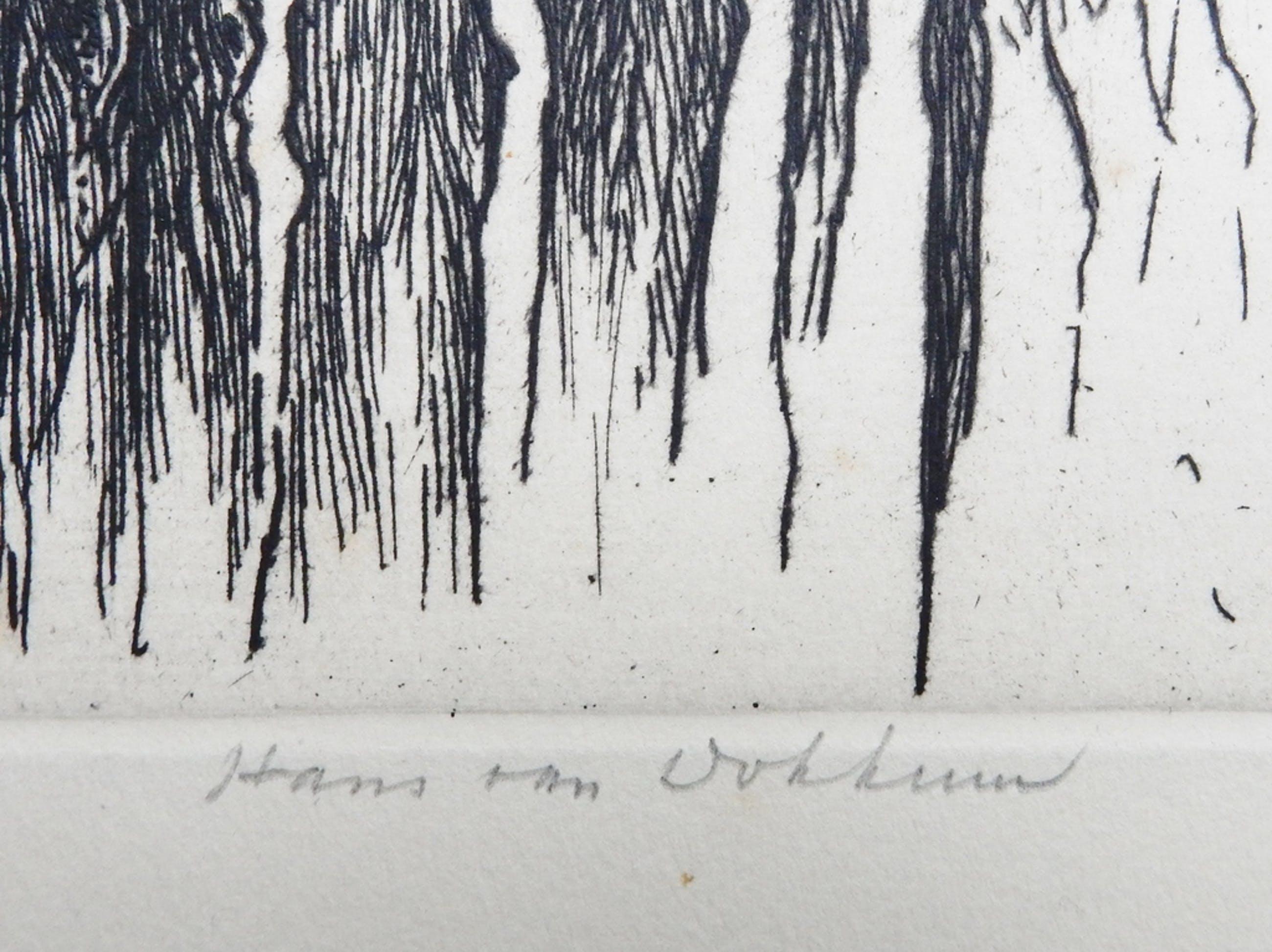 Hans van Dokkum (1908-1995) - verstilde ets kopen? Bied vanaf 20!