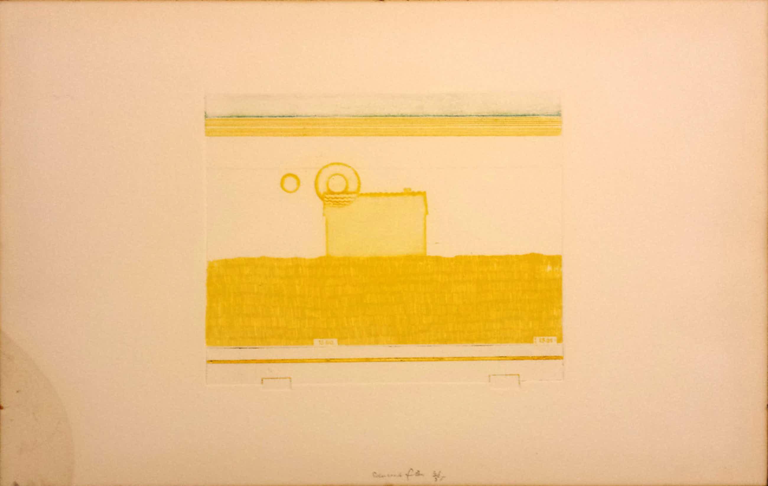 Eduard Flor, Ets nr 3, tijd, 1974 kopen? Bied vanaf 41!