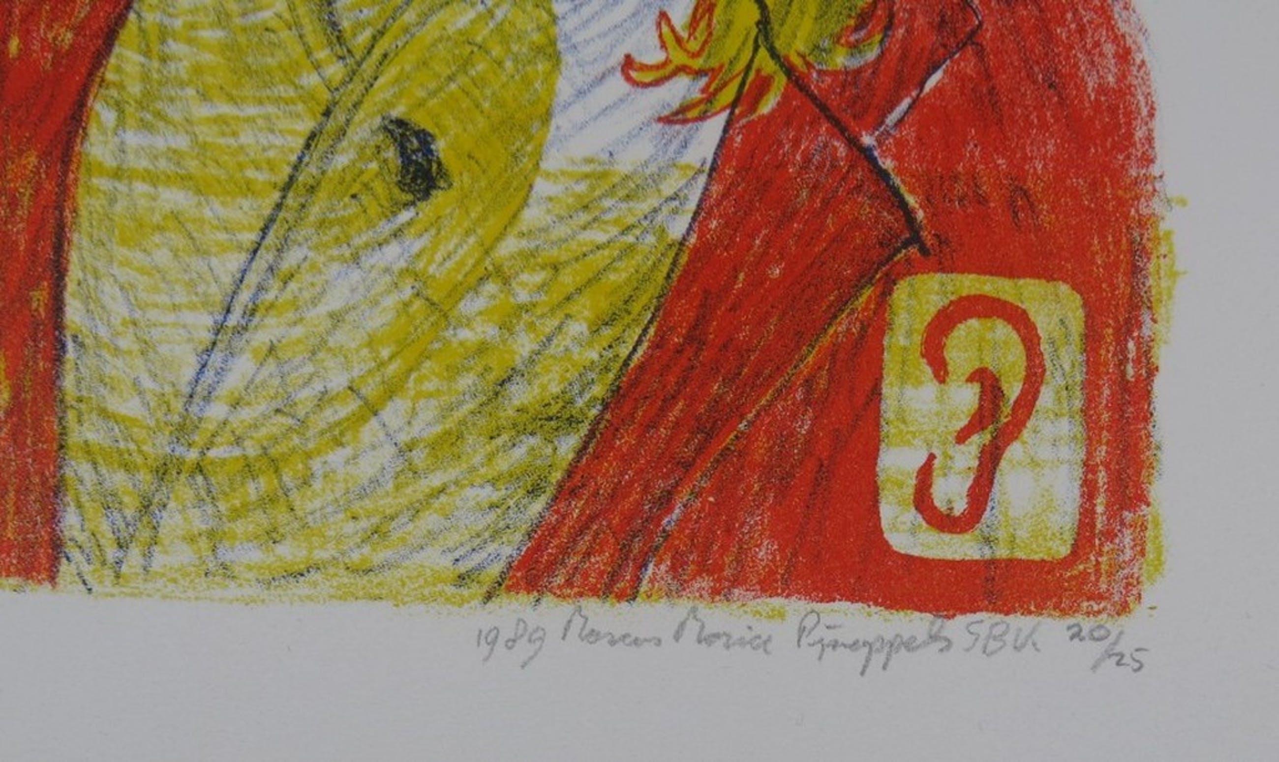 Marc Pijnappels: Litho, Van Gogh kopen? Bied vanaf 1!