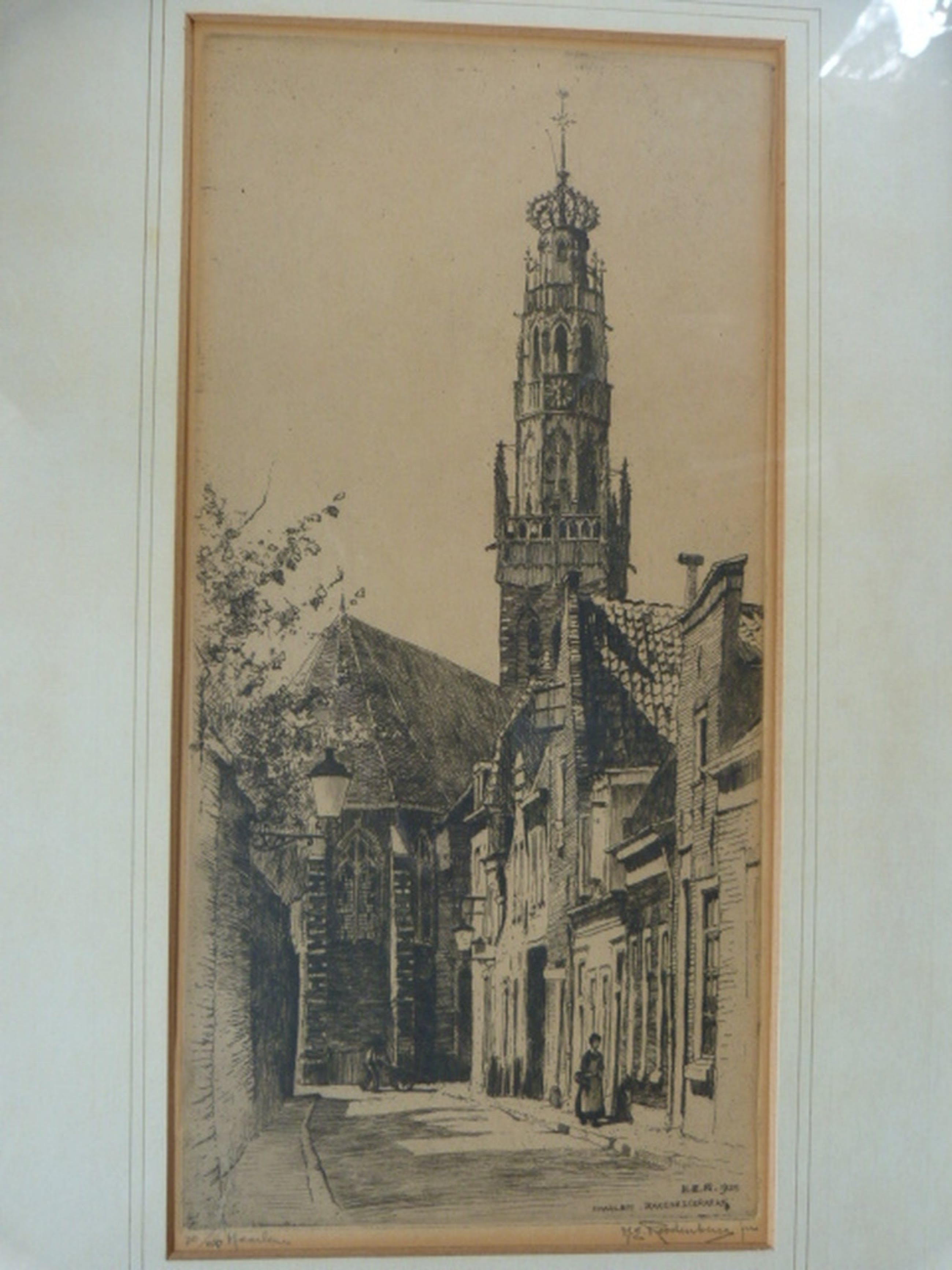 H.E. Roodenburg - Haarlem - Bakenesserkerktoren en Utrecht - Buurkerkhof kopen? Bied vanaf 1!