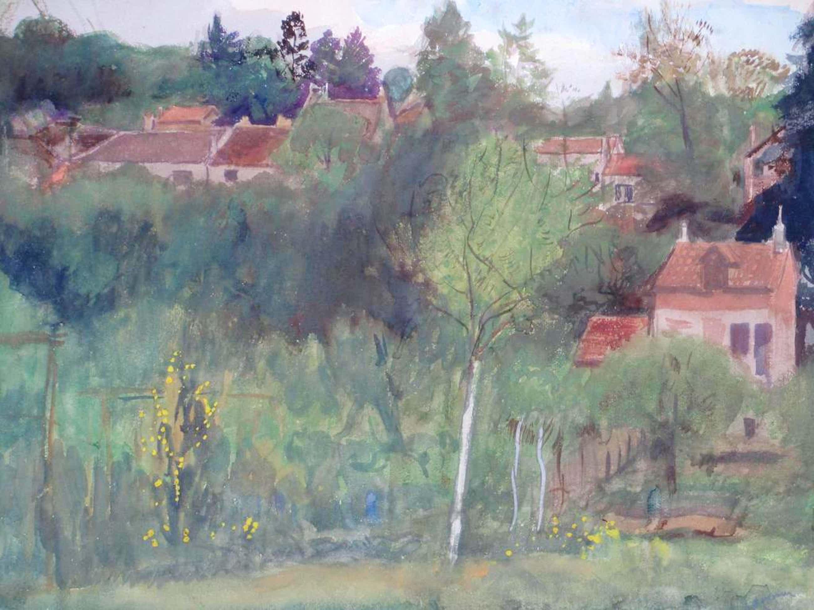 Jan Cossaar, 'Mijn tuin', Gemengde techniek 1925 kopen? Bied vanaf 196!
