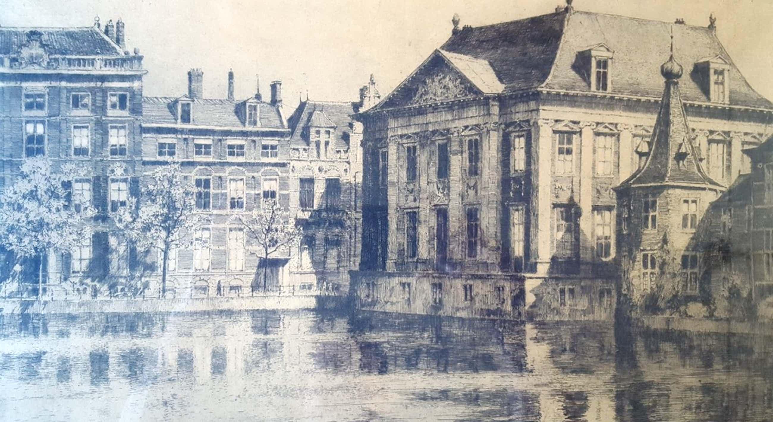 H.E.Roodenburg - ets 75/100, Den Haag - Torentje 1927 kopen? Bied vanaf 75!