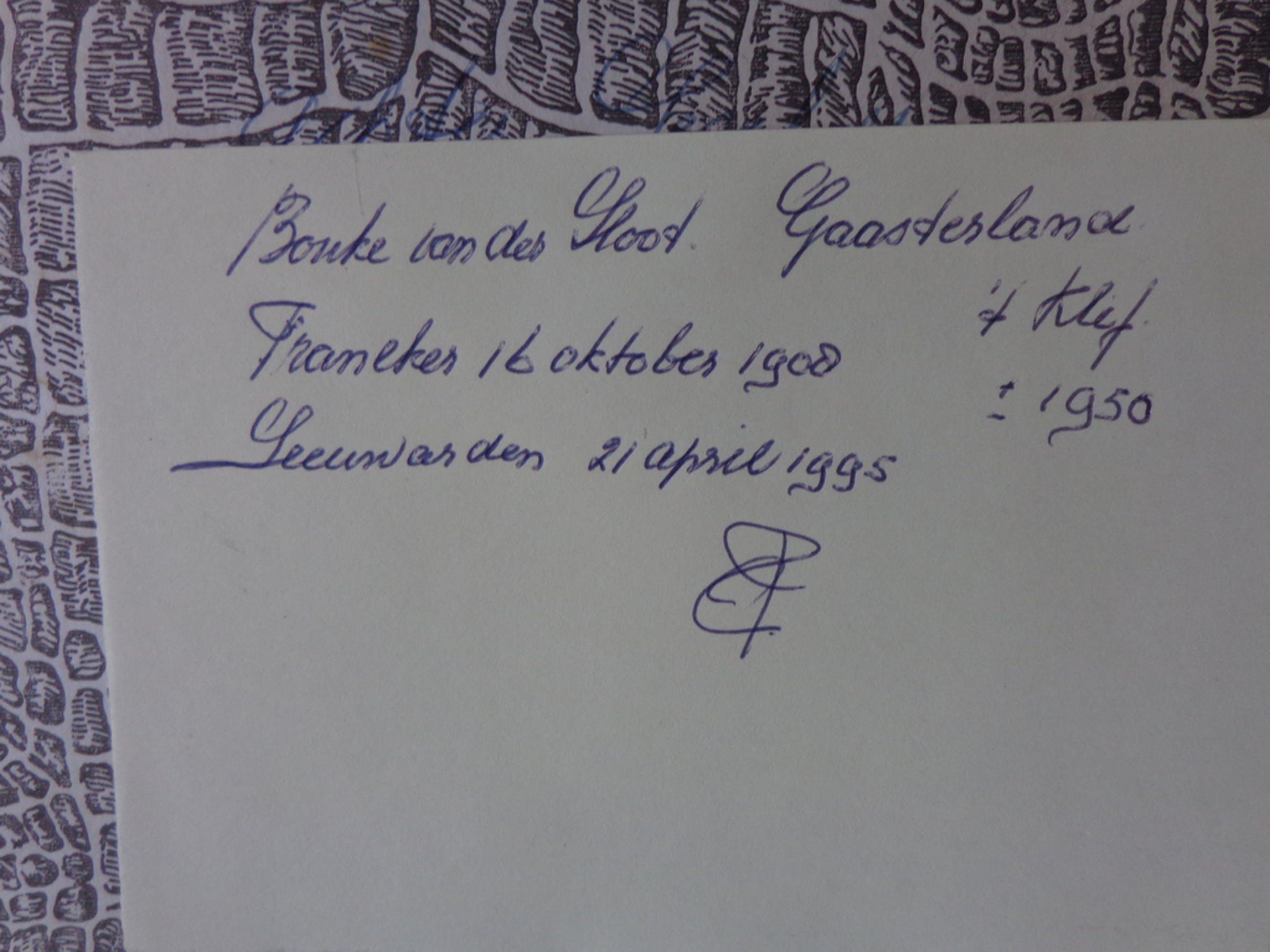 Bouke van der Sloot: olieverf op paneel, Gaasterland 't Klif 1950 kopen? Bied vanaf 100!