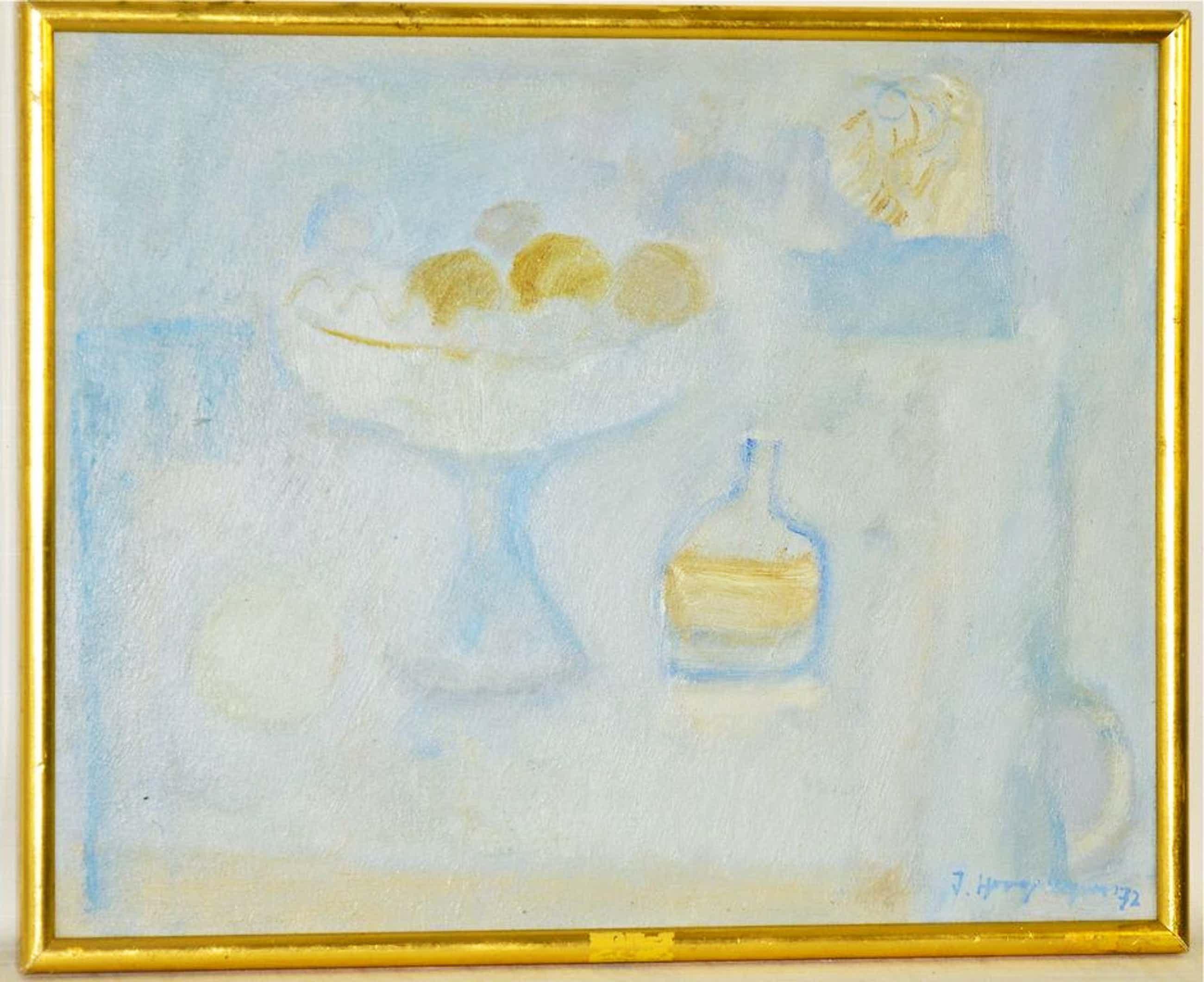 Jan Hoogsteyns: Olieverfschilderij. Stilleven kopen? Bied vanaf 175!