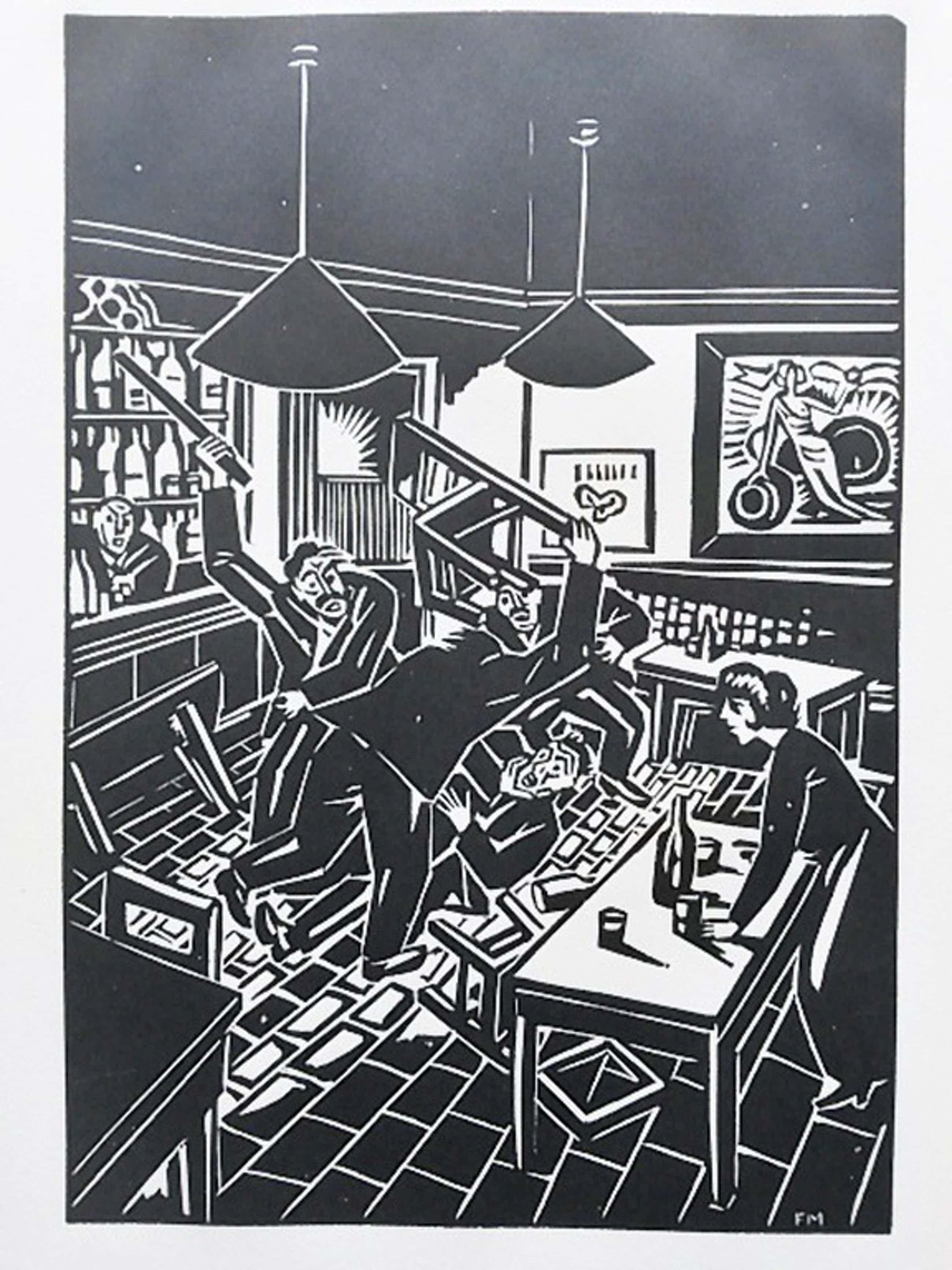 Frans Masereel, houtsnede, uit La Ville 1928 kopen? Bied vanaf 75!