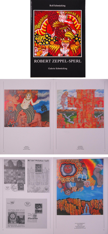 Robert Zeppel-Sperl Orginele Zeefdruk + boek kopen? Bied vanaf 1!