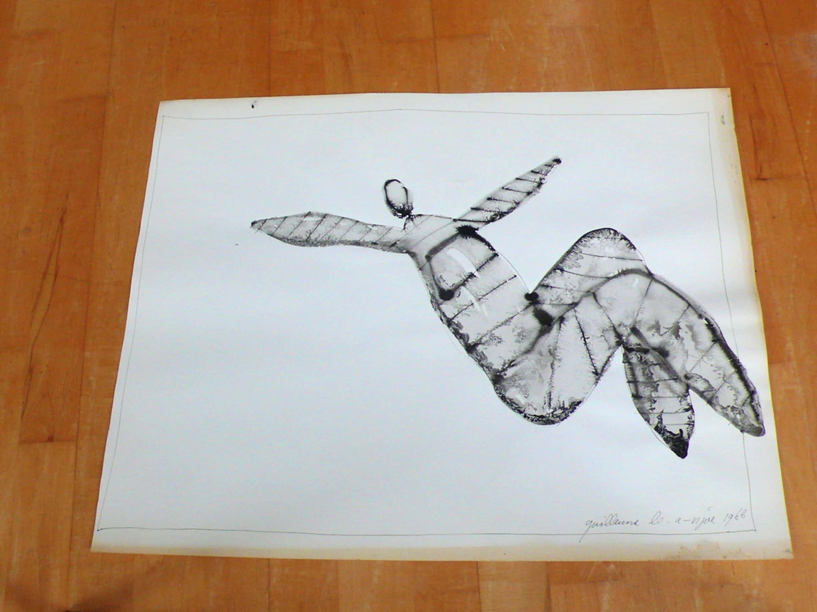 Guillaume Lo-A-Njoe, inkt op papier kopen? Bied vanaf 50!