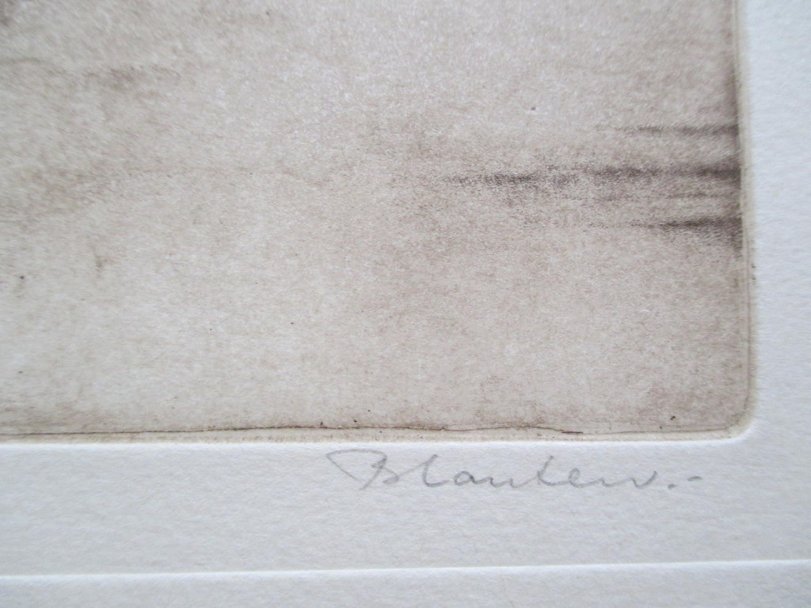 """Hans Blanken, ets """"Kunstrijden om turven"""" E.A kopen? Bied vanaf 40!"""