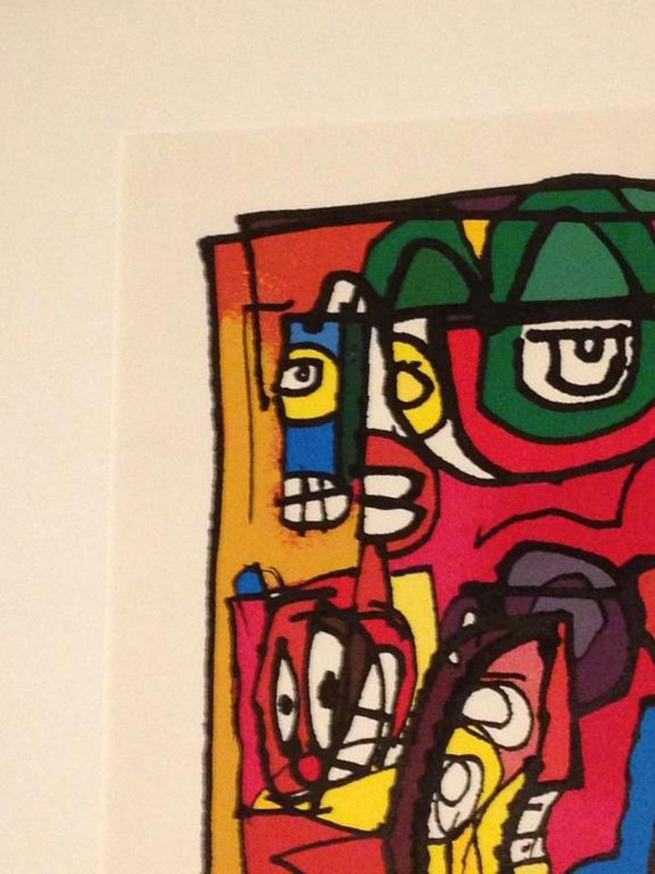 George Heidweiller: Kleurenlithografie, Twisted Reminder kopen? Bied vanaf 175!