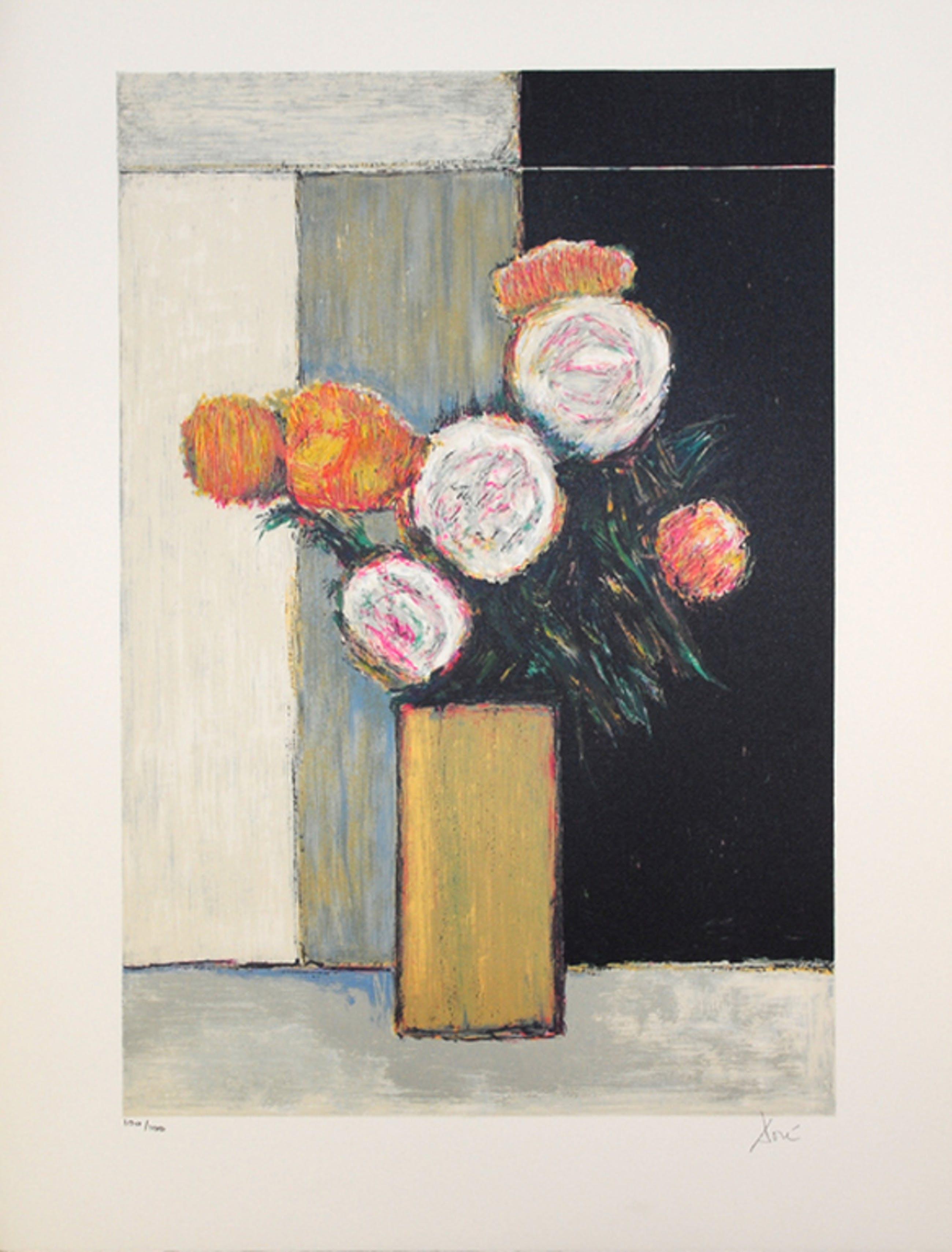 Dore: Lithografie, Florale Compositie kopen? Bied vanaf 20!