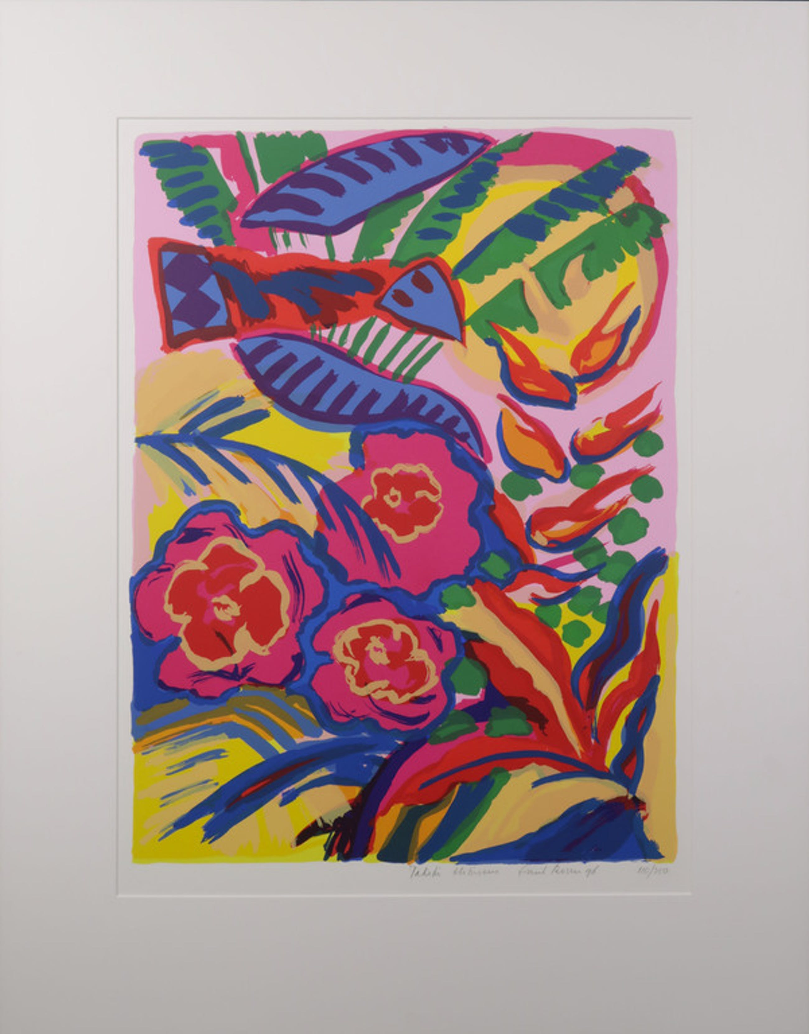 Frank Rosen: Zeefdruk, Tahiti Hibiscus kopen? Bied vanaf 1!