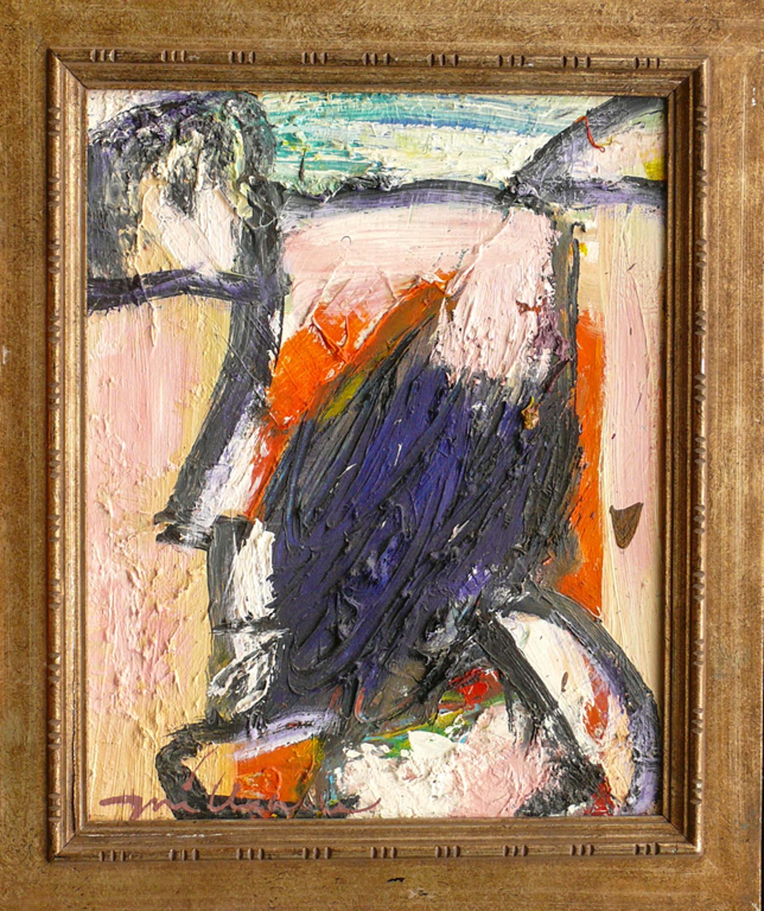Guillaume Lo-A-Njoe (1937), Olieverf op doek, Abstract kopen? Bied vanaf 400!