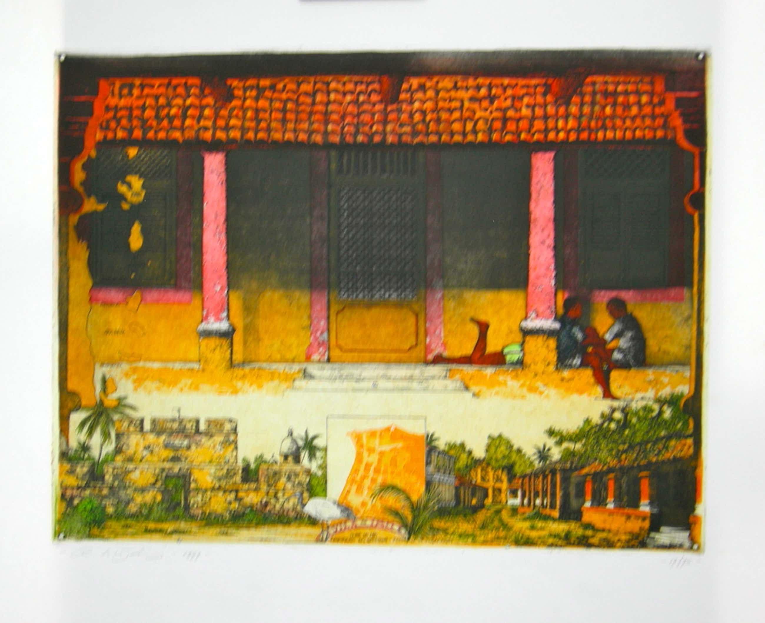 Rolf Weijburg, kleurenets, Ibo - Mozambique kopen? Bied vanaf 50!