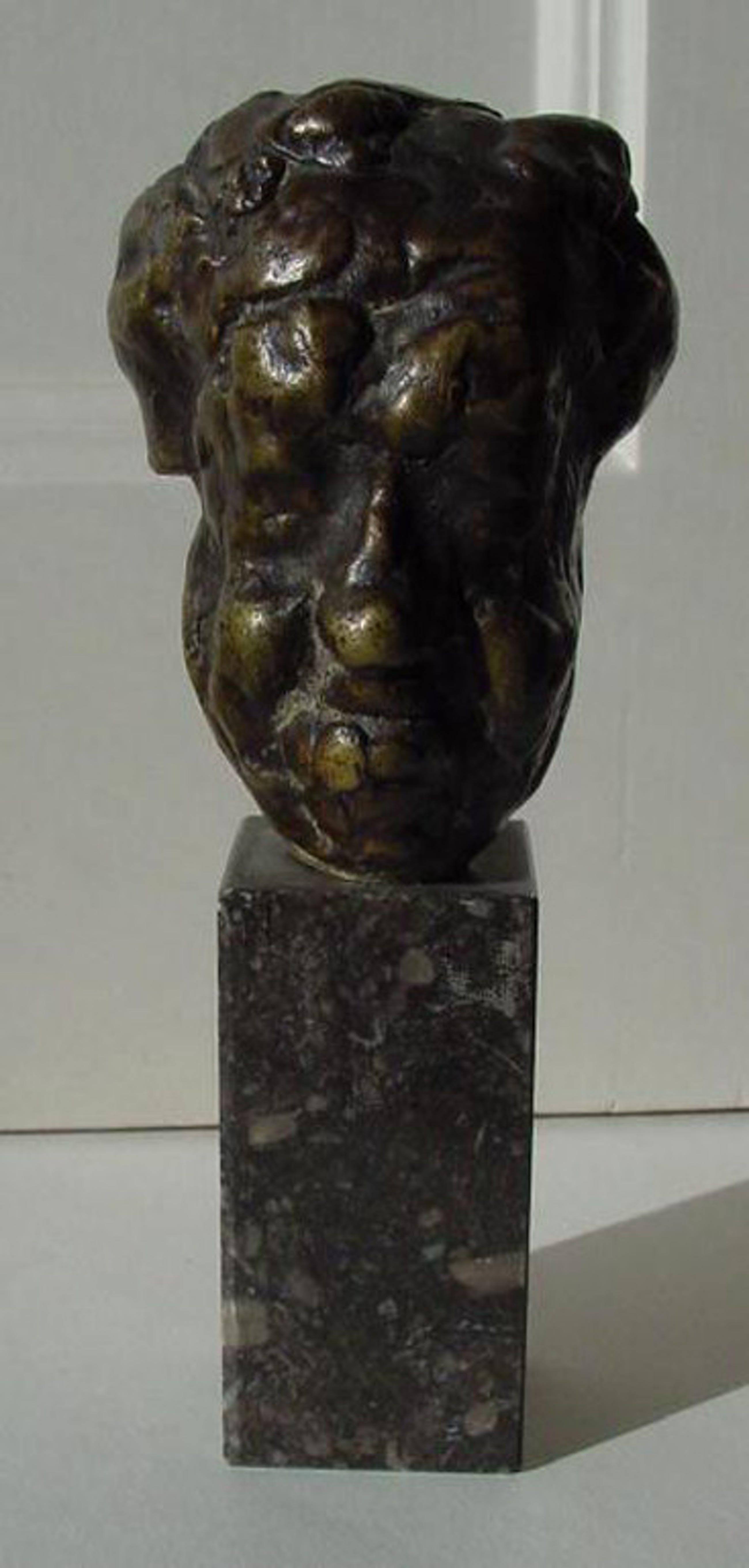 Pieter d'Hondt - bronzen beeldje Michel Simon (franse acteur) kopen? Bied vanaf 650!