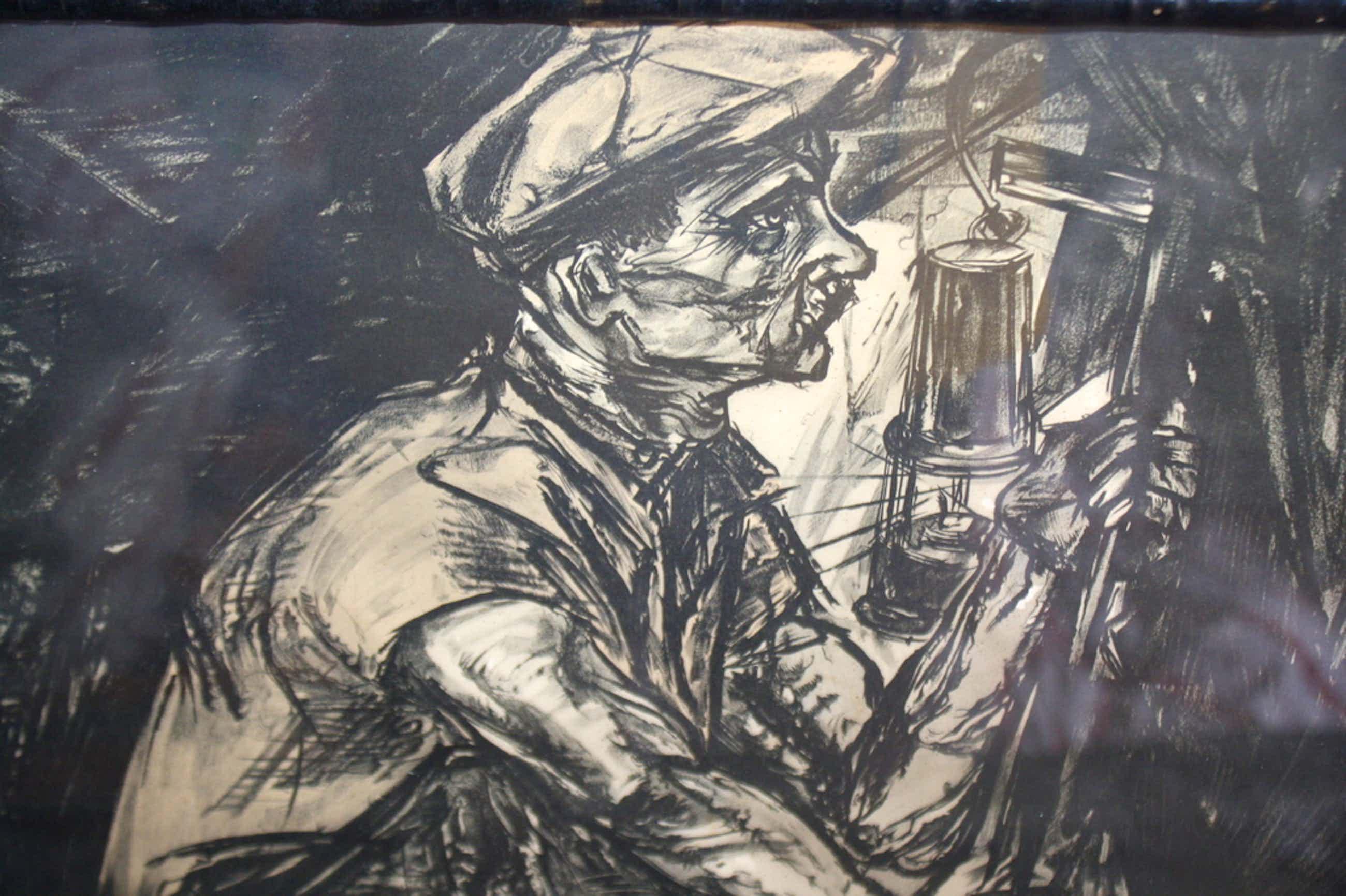 DE MIJNWERKER van JAN TOOROP - ART DECO LITHO kopen? Bied vanaf 50!