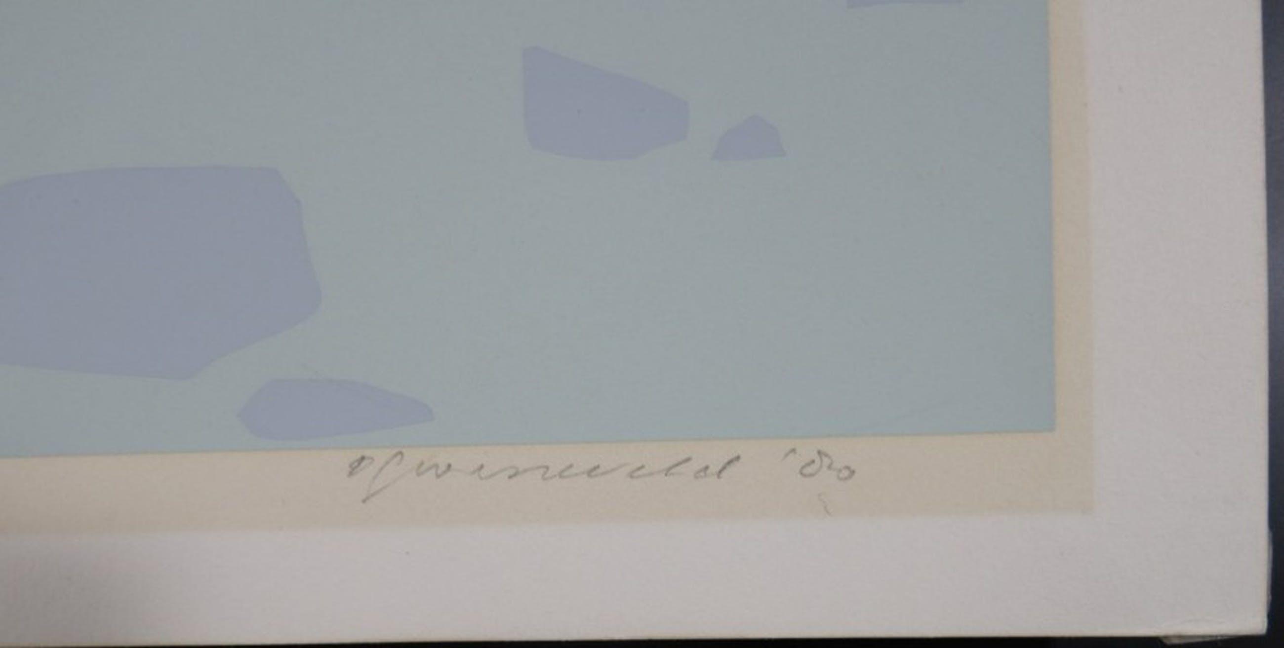 Doris Groeneveld: Zeefdruk, Zonder titel 1 kopen? Bied vanaf 1!