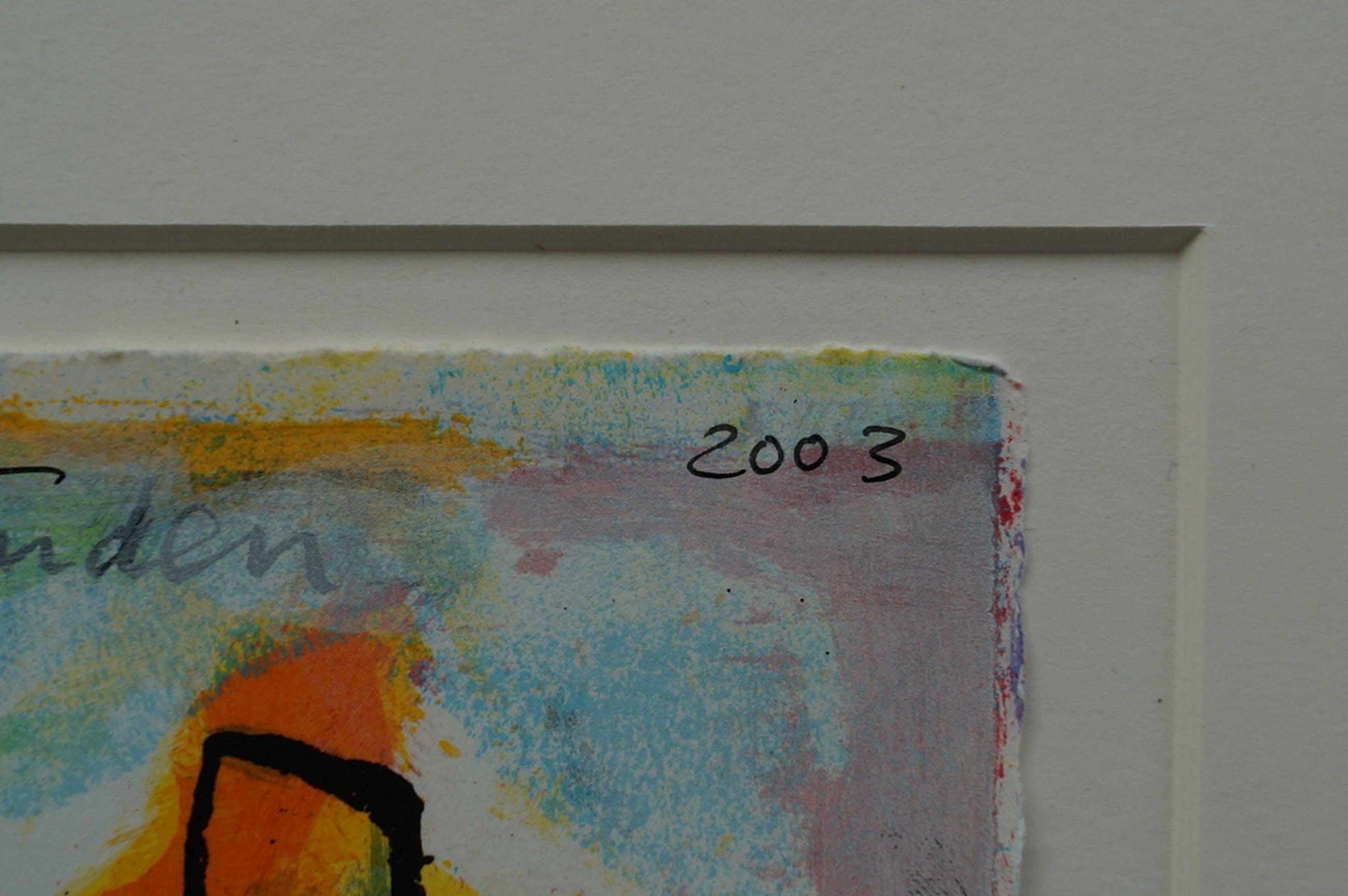 Marion Bloem - gesigneerde zeefdruk - 2003 kopen? Bied vanaf 20!