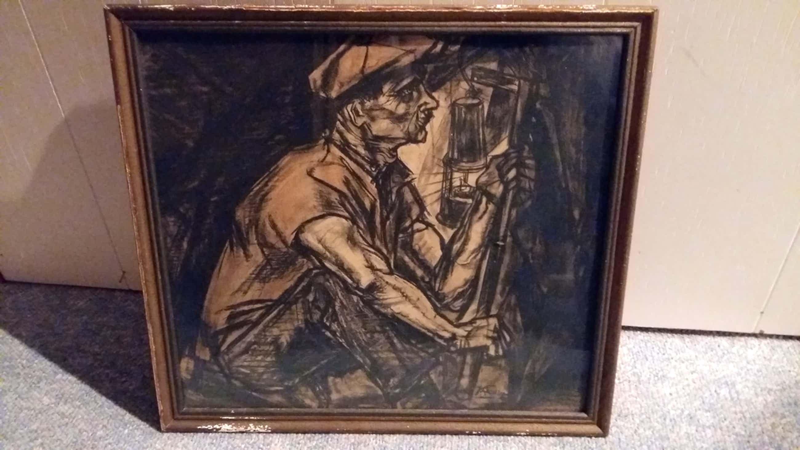 De mijnwerker van Jan Toorp kopen? Bied vanaf 60!