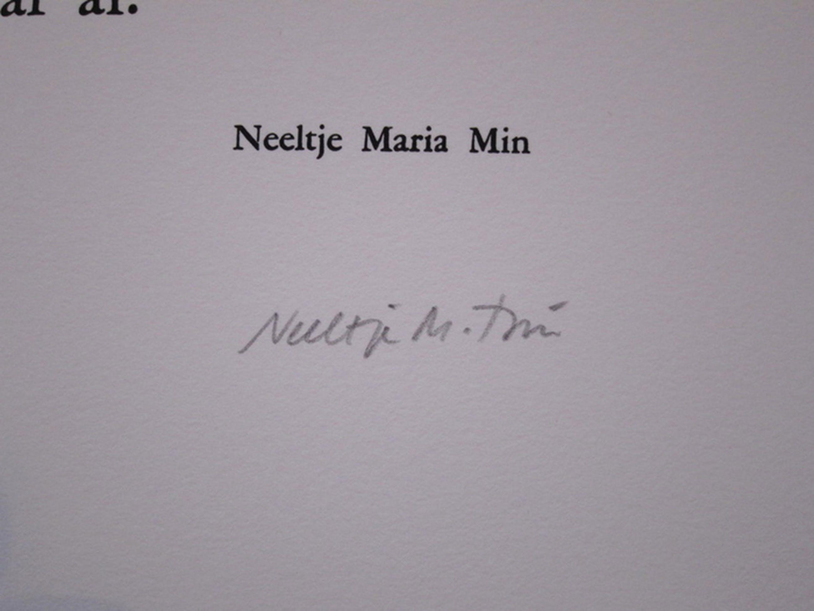 Neeltje Maria Min Zeefdruk: gedicht kopen? Bied vanaf 1!