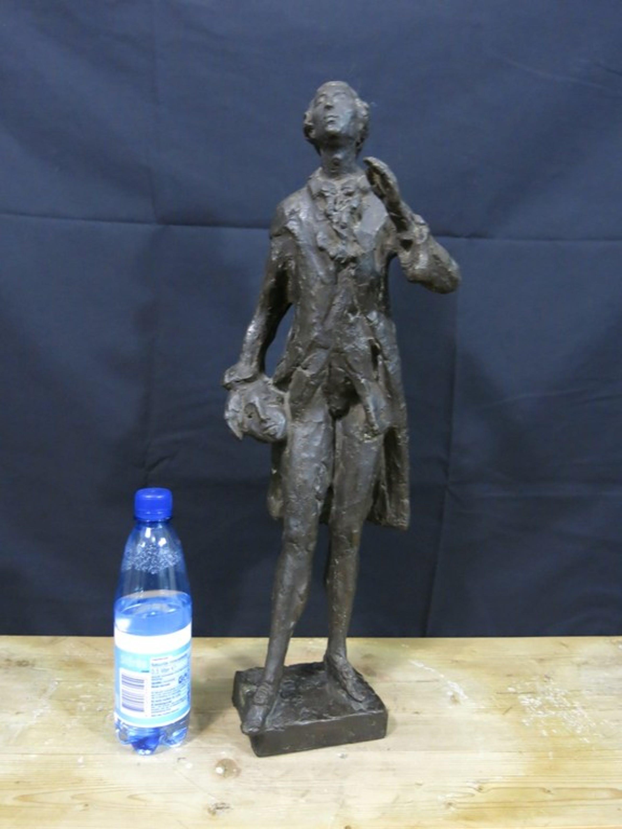 Gabriel Sterk: Bronzen beeld, Casanova kopen? Bied vanaf 950!
