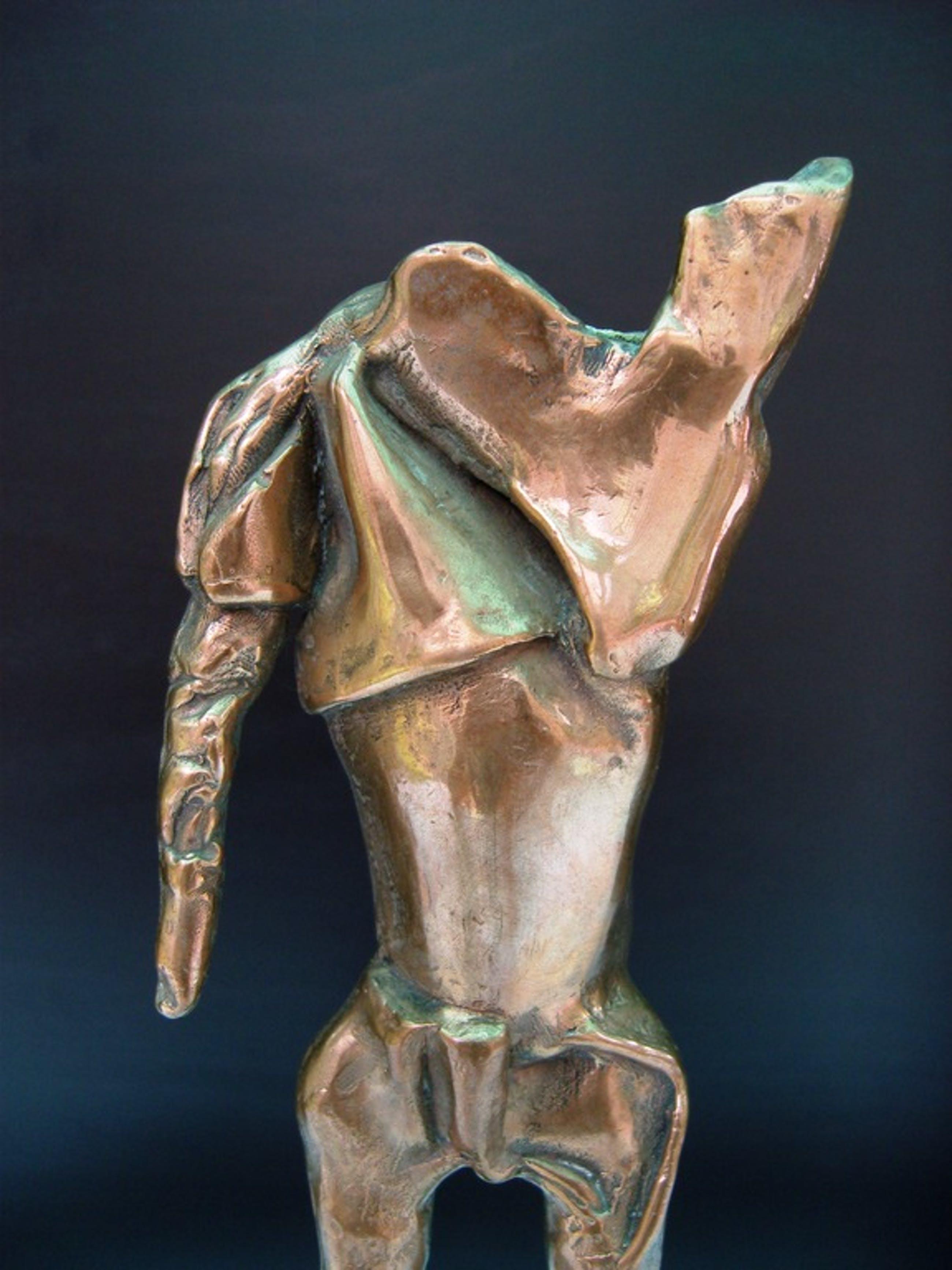 Luc de Blok, schitterend abstract brons. kopen? Bied vanaf 275!