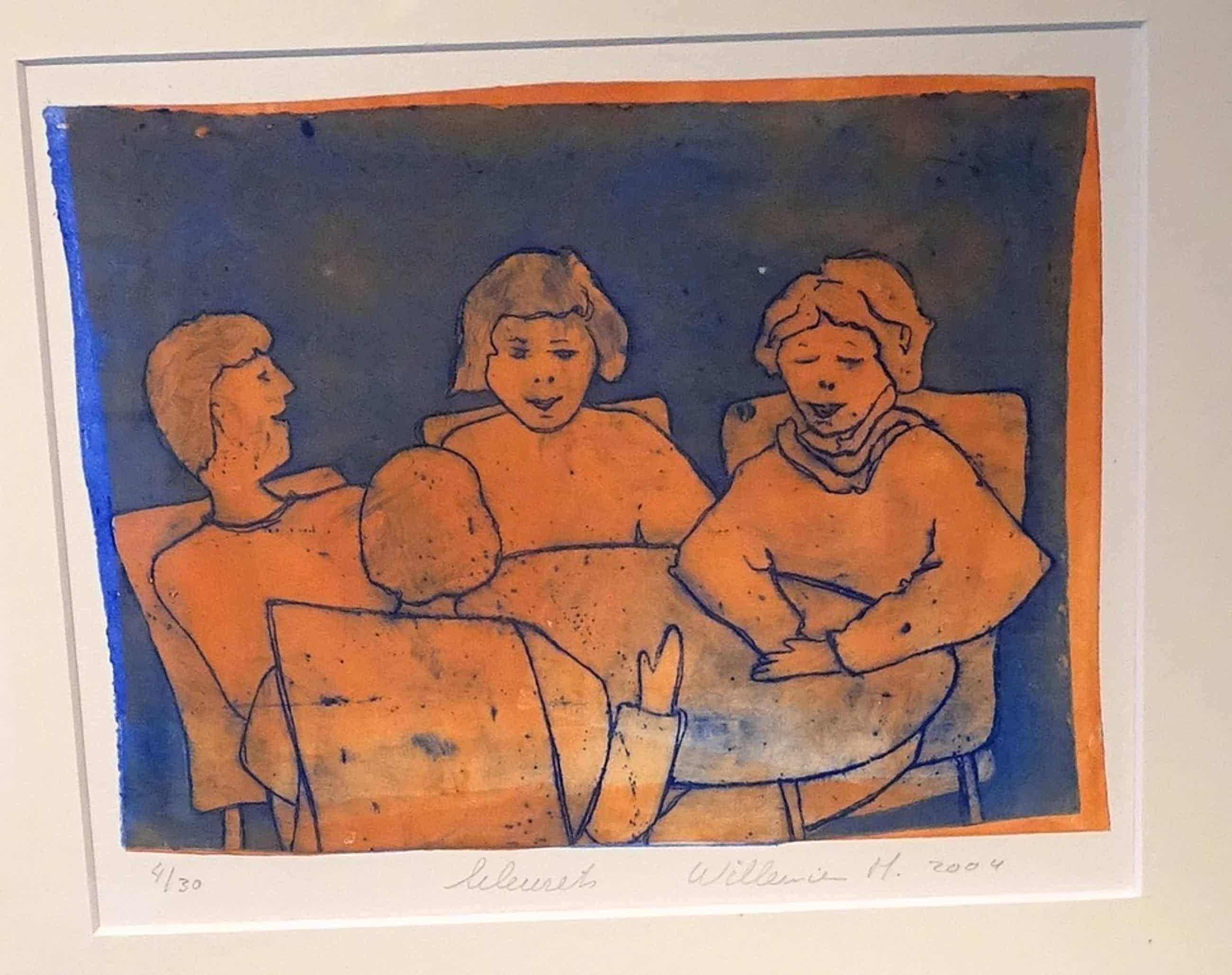 Willemien Holterman  --  Kleurets  --  Het gesprek kopen? Bied vanaf 35!