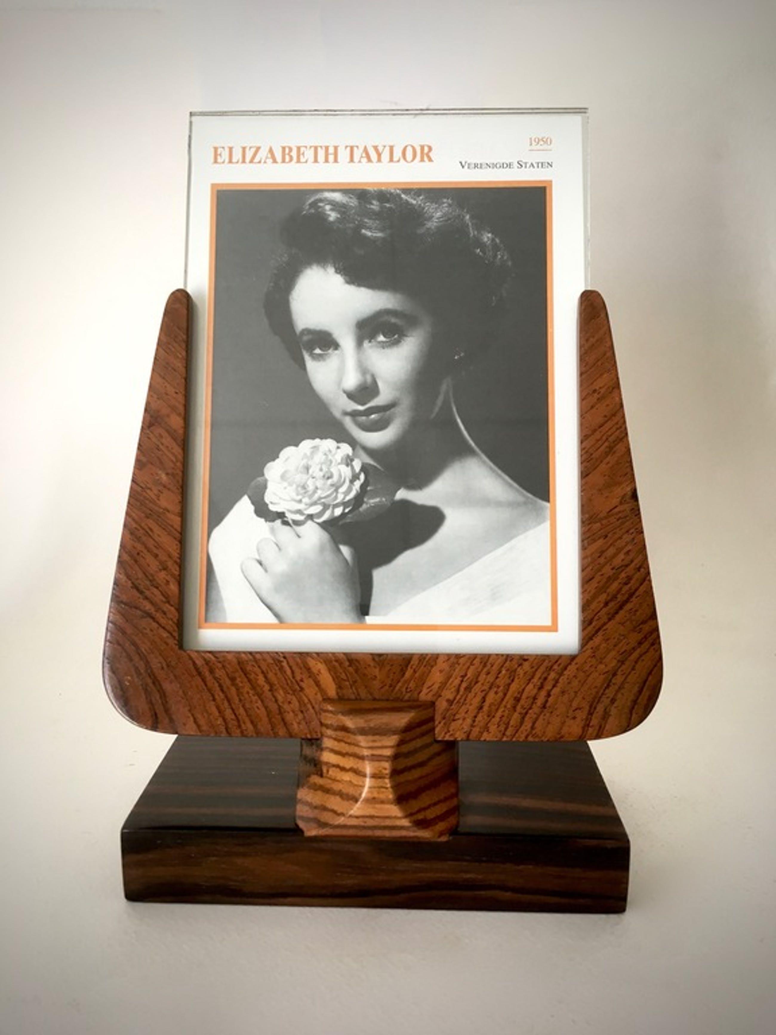 Houten art deco foto lijst 1930's Frankrijk kopen? Bied vanaf 19!